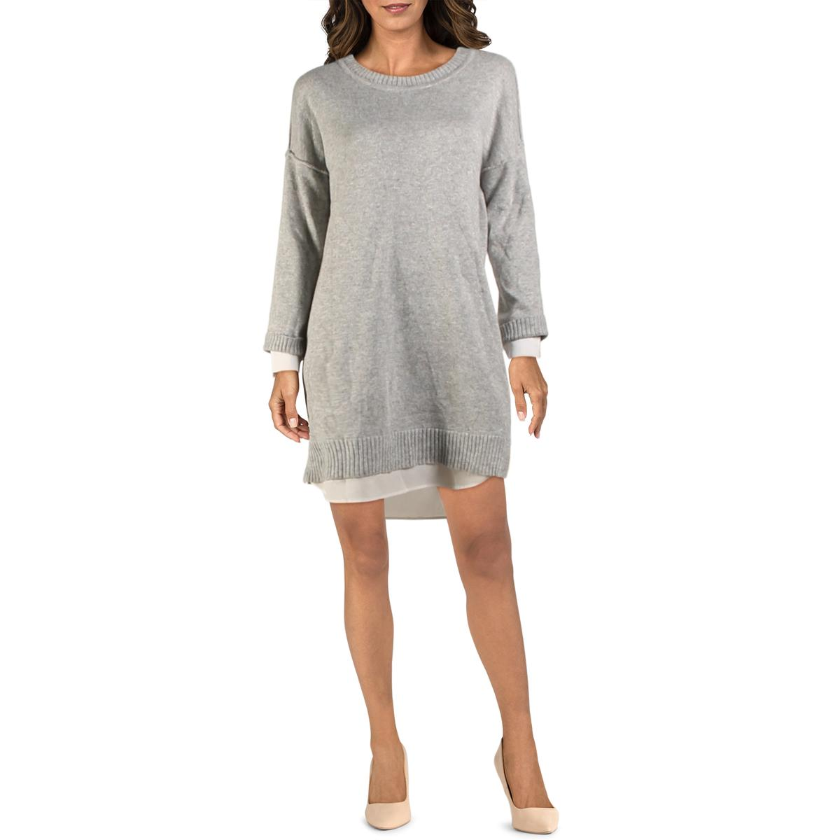 Nic Zoe Womens Elevated Studded Daytime Party Sweaterdress BHFO 1589
