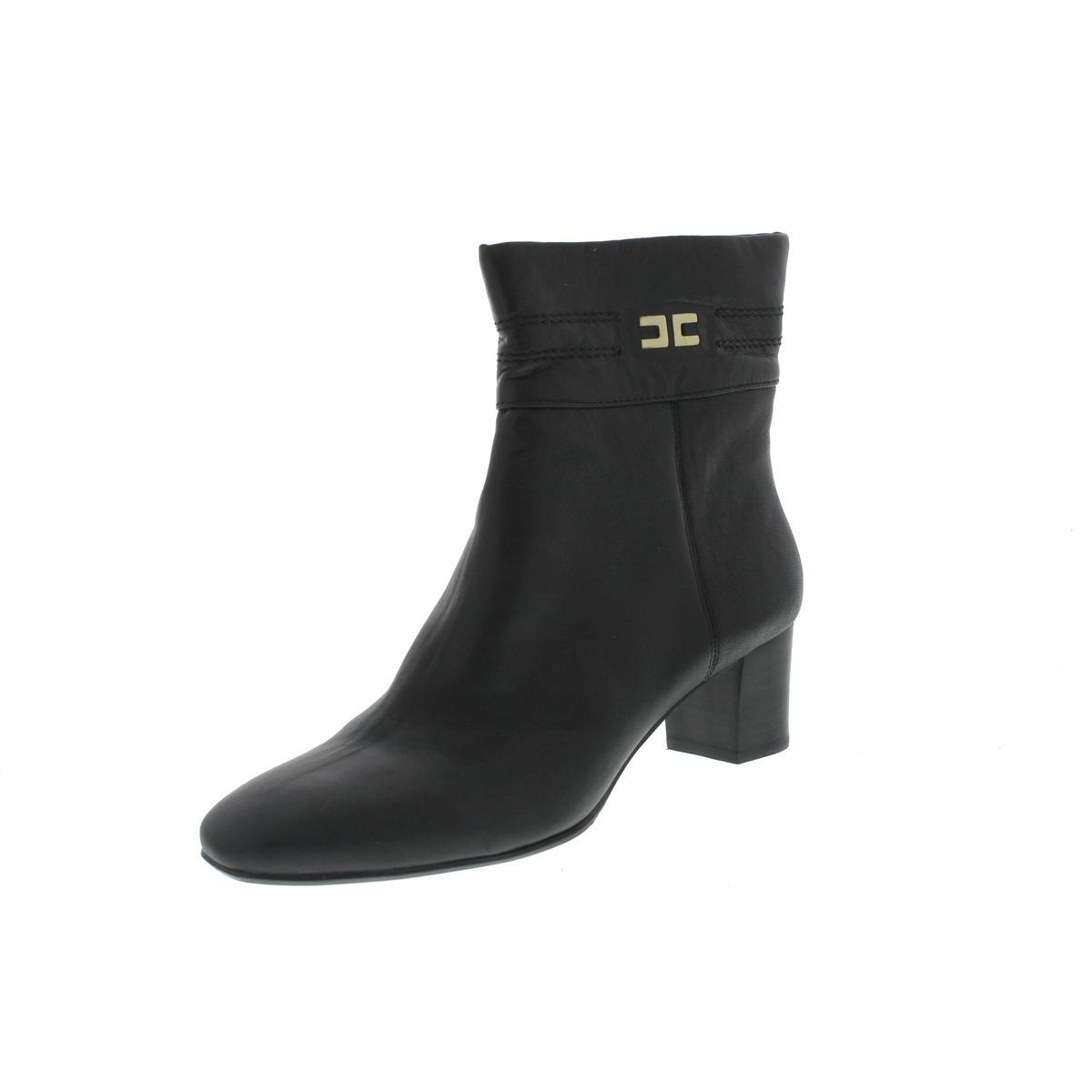 2ba5c6ab15 Details about Bandolino Womens Dajuda Black Shoes Ankle Boots Heels 7.5  Medium (B,M) BHFO 5253