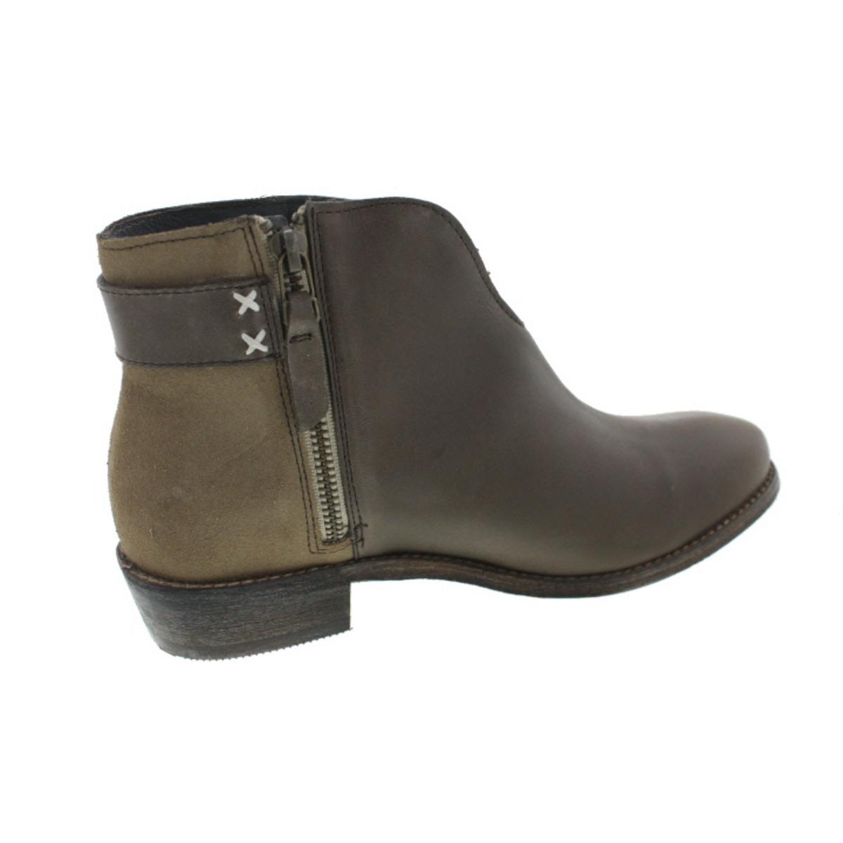 Koolaburra Damenschuhe Dallas Leder Fringe Western Ankle Stiefel Schuhes BHFO 5429