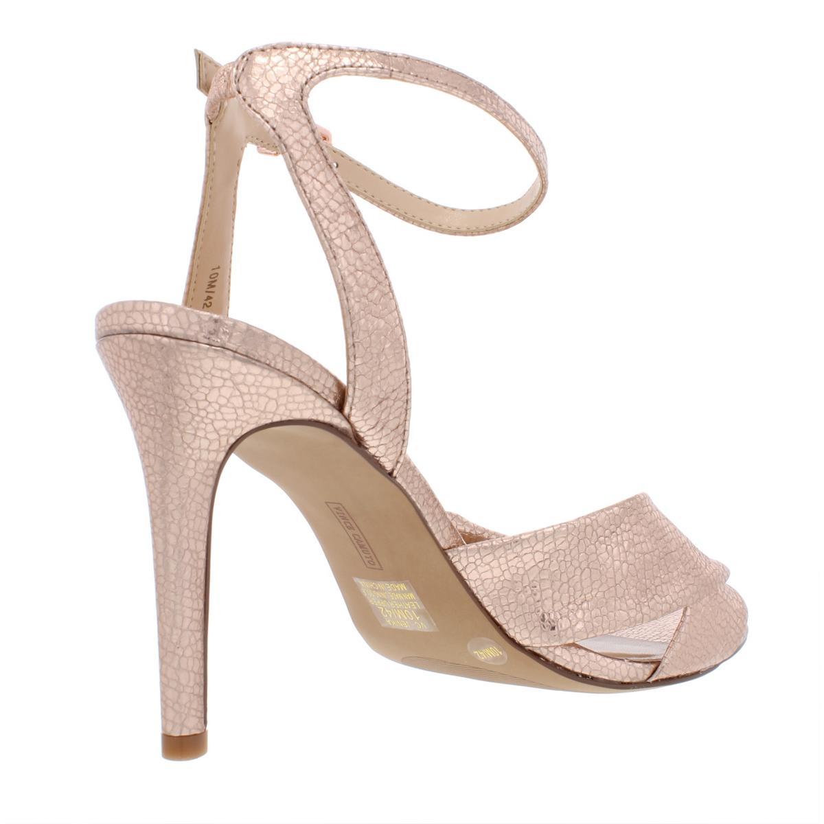Vince-Camuto-Womens-Jenika-Nubuck-Stiletto-Night-Out-Heels-Shoes-BHFO-6694 thumbnail 4