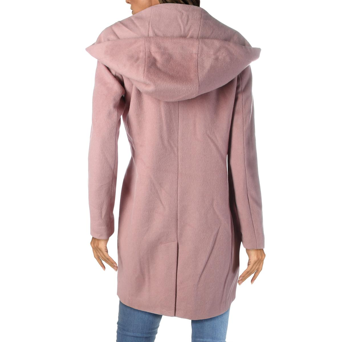 Karl-Lagerfeld-Paris-Womens-Winter-Wool-Blend-Midi-Coat-Outerwear-BHFO-6449 thumbnail 6