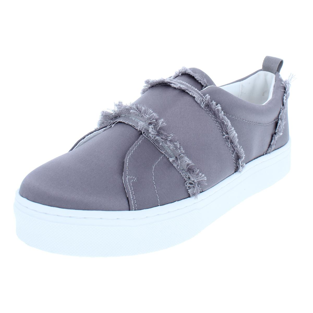 d95bbb8d7 Sam Edelman Womens Levine Gray Fashion Sneakers Shoes 9.5 Medium (B ...