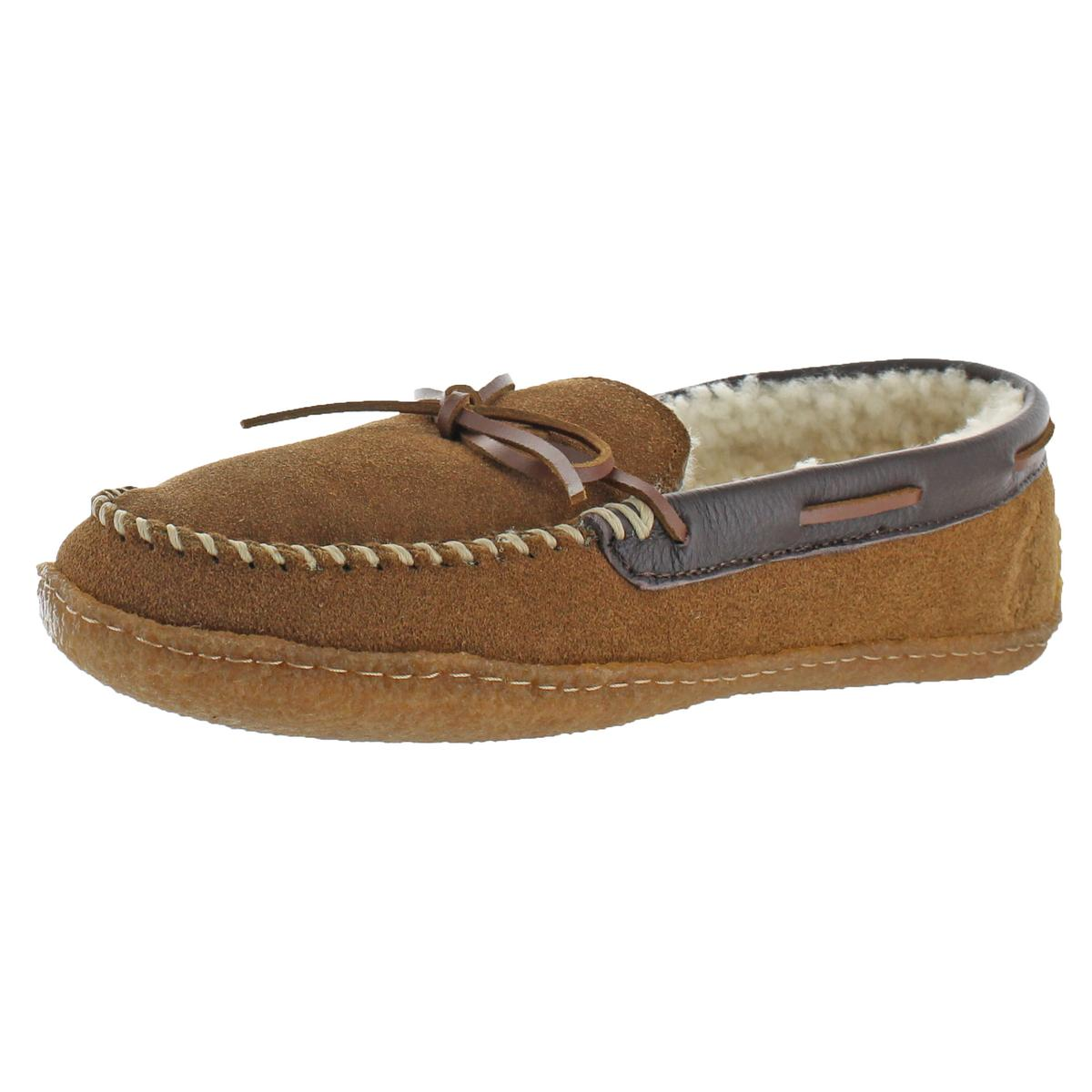 a27da1217 Details about Polo Ralph Lauren Mens Mason Moccasin Tan Moccasin Slippers 8  Medium (D) 7600