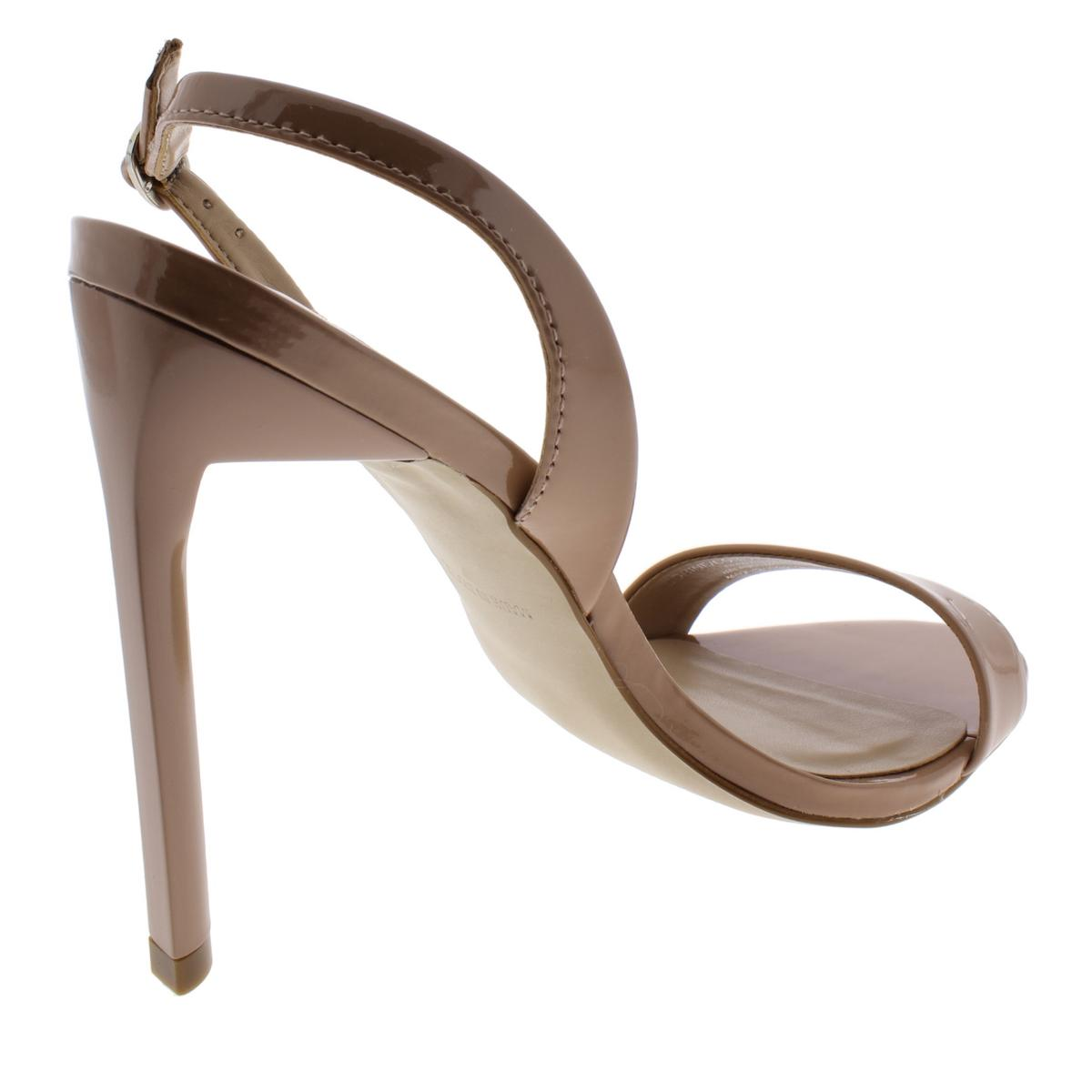 Steve-Madden-Womens-Corine-Patent-Leather-Stiletto-Dress-Sandals-Shoes-BHFO-2344 thumbnail 6