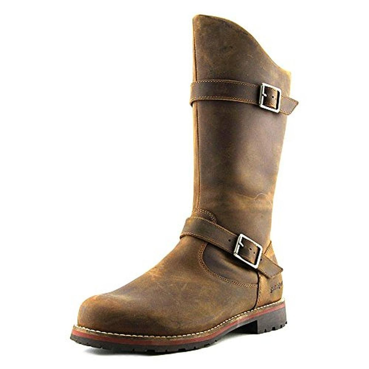 Patagonia 7698 Womens Tin Shed Leather Belted Mid Calf