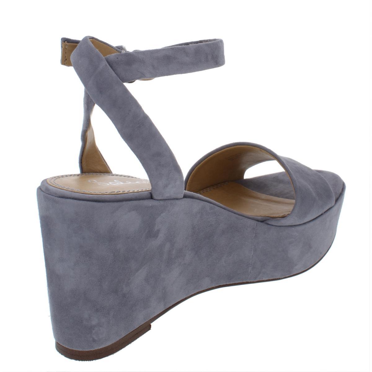 ce1d5fa40d7b Splendid Womens Felix Suede Wedge Platform Platform Sandals Shoes ...