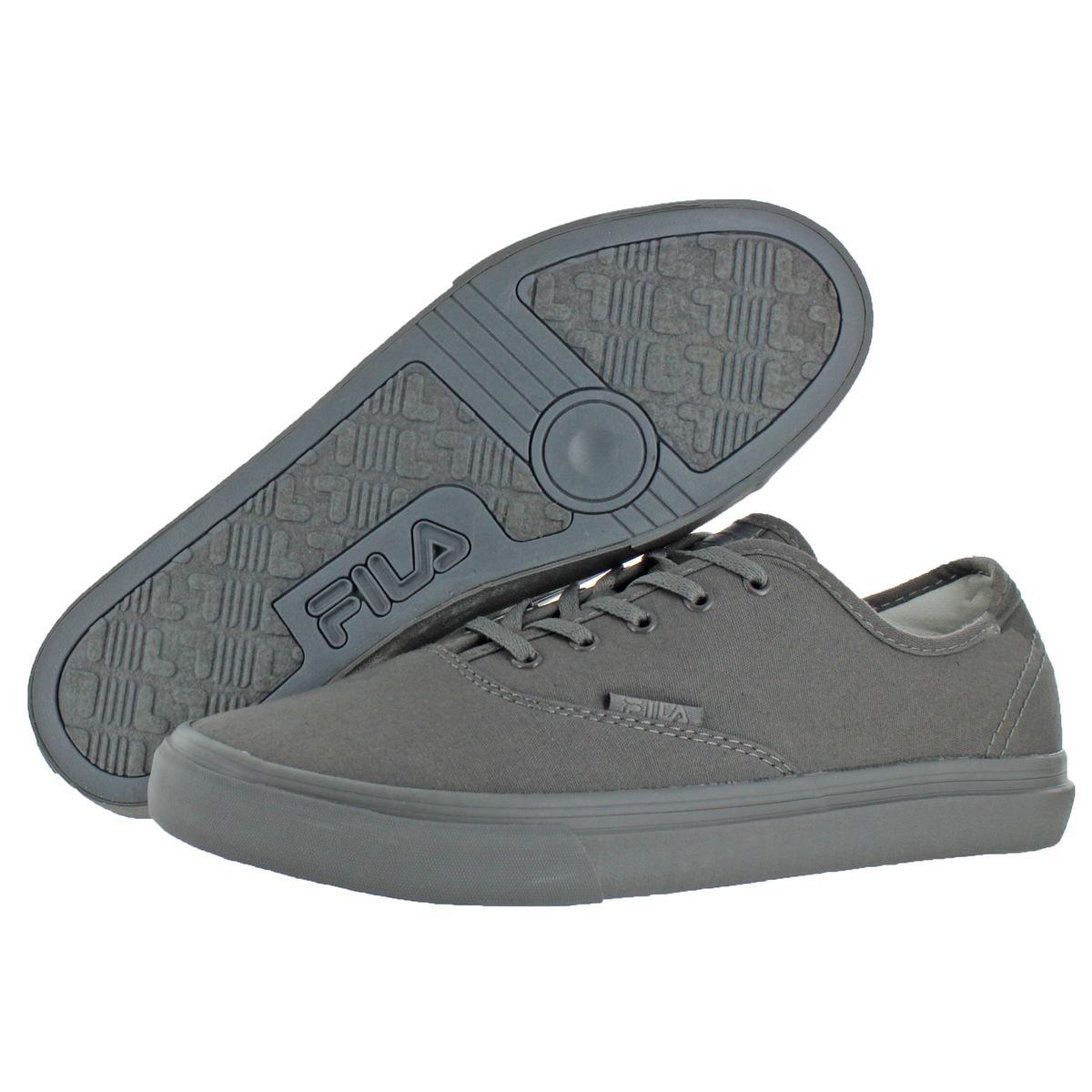 Fila-Classic-Canvas-Men-039-s-Fashion-Skate-Sneakers-Shoes thumbnail 4