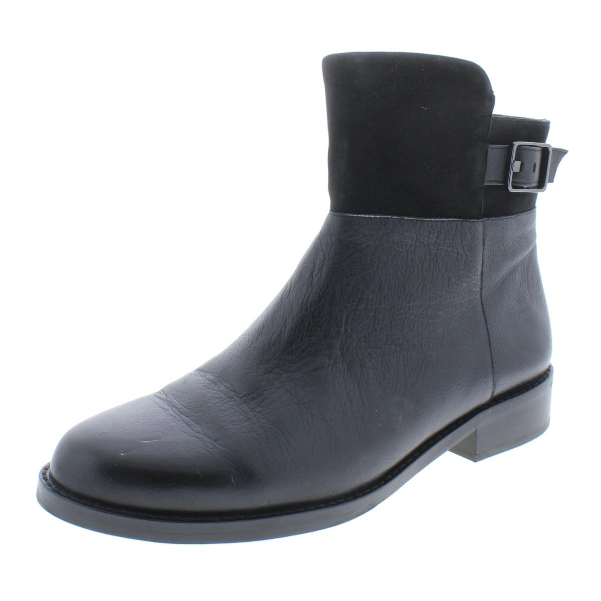 French Connection Womens Greecia Black Booties shoes 8.5 Medium (B,M) BHFO 5664