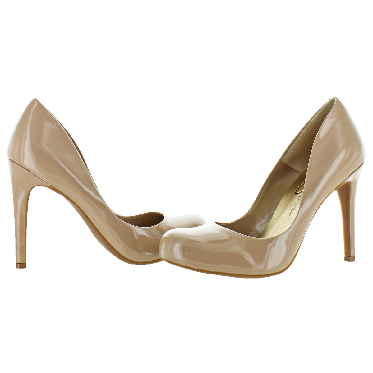 Jessica-Simpson-Women-039-s-Calie-Round-Toe-Classic-Heels-Pumps-Shoes thumbnail 9