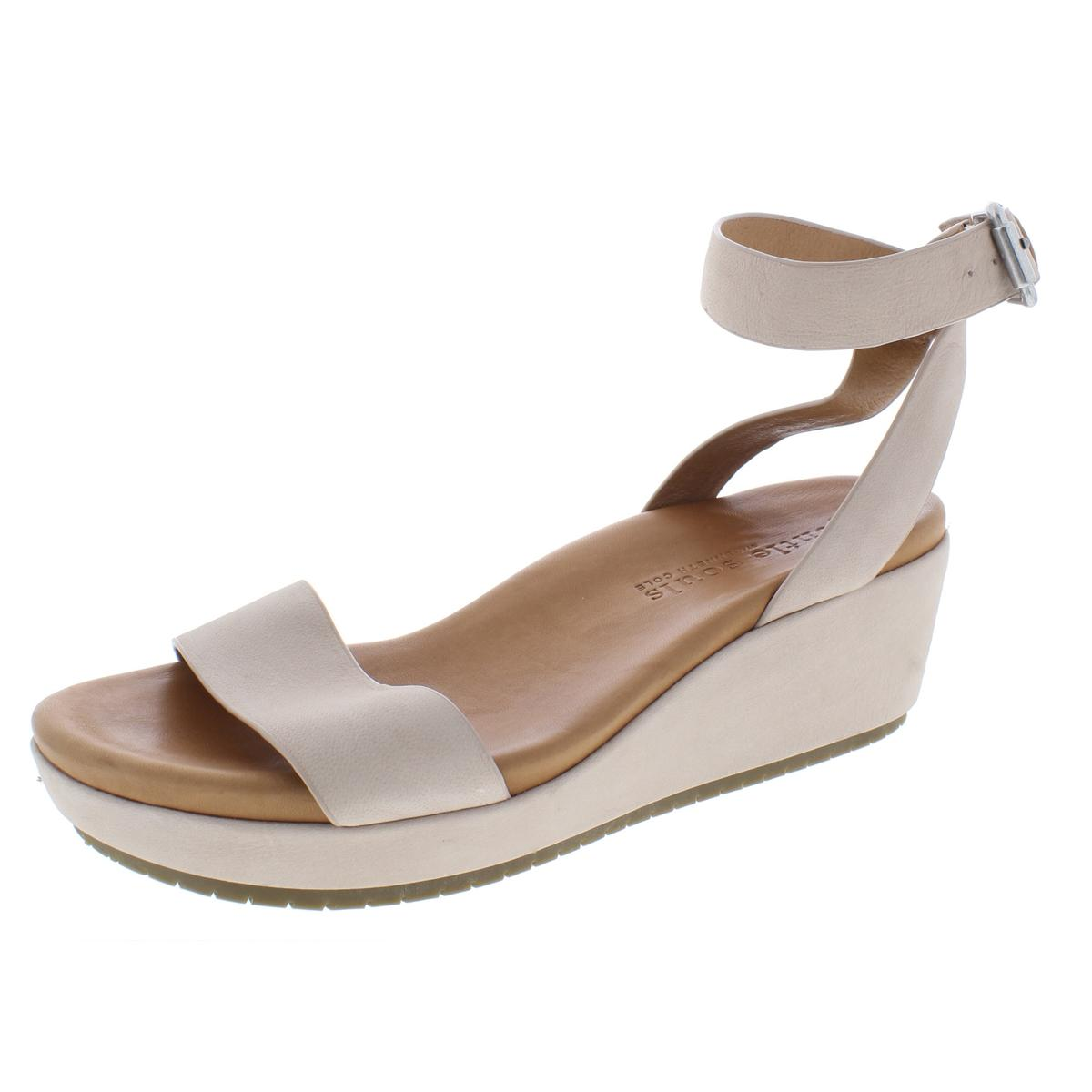 669a689be512 Details about Gentle Souls by Kenneth Cole Womens Morrie Wedge Sandals 7.5  Medium (B