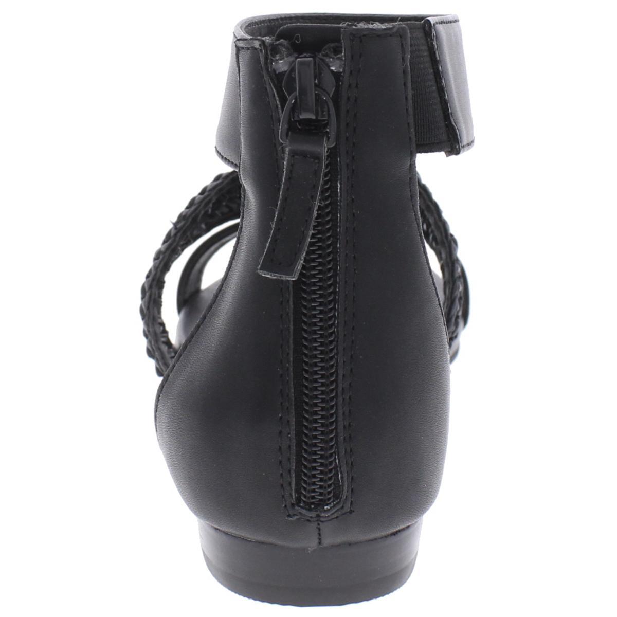 Tahari-Womens-Dorm-Open-Toe-Textured-Ankle-Flat-Sandals-Shoes-BHFO-3387 thumbnail 7