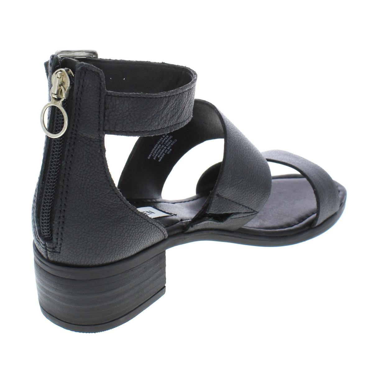 Steve-Madden-Womens-Daly-Leather-Open-Toe-Dress-Heels-Sandals-BHFO-5458 thumbnail 4
