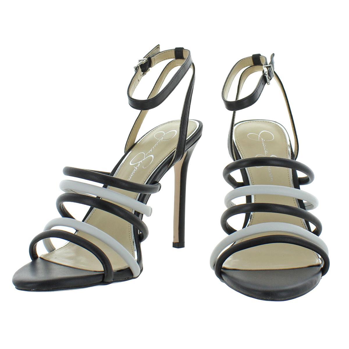 Jessica-Simpson-Femme-Joselle-a-Lanieres-Talon-Haut-Robe-Sandales-Chaussures-BHFO-7879 miniature 5