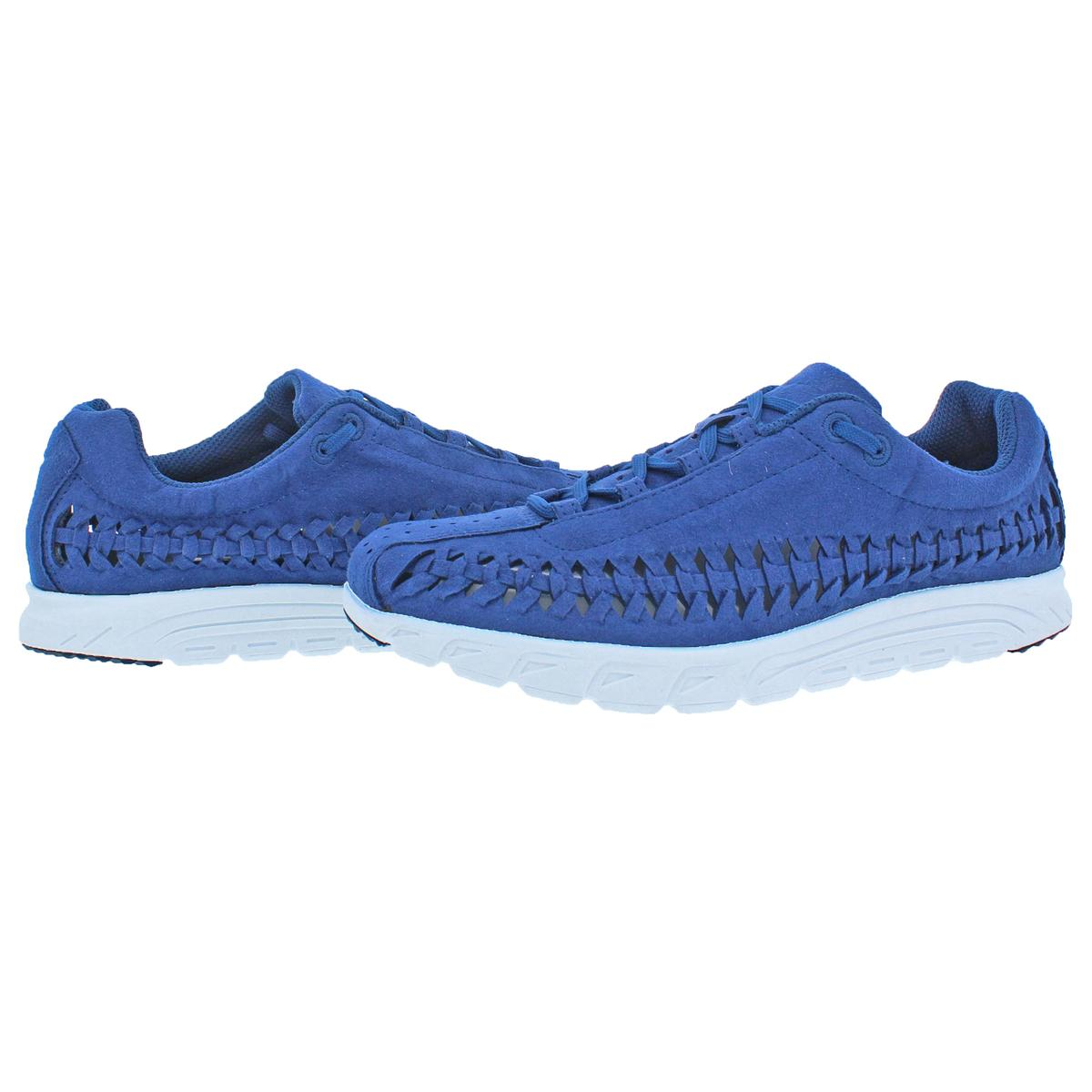 Nike-Mens-Mayfly-Woven-Suede-Woven-Training-Fashion-Sneakers-Shoes-BHFO-2898 thumbnail 9