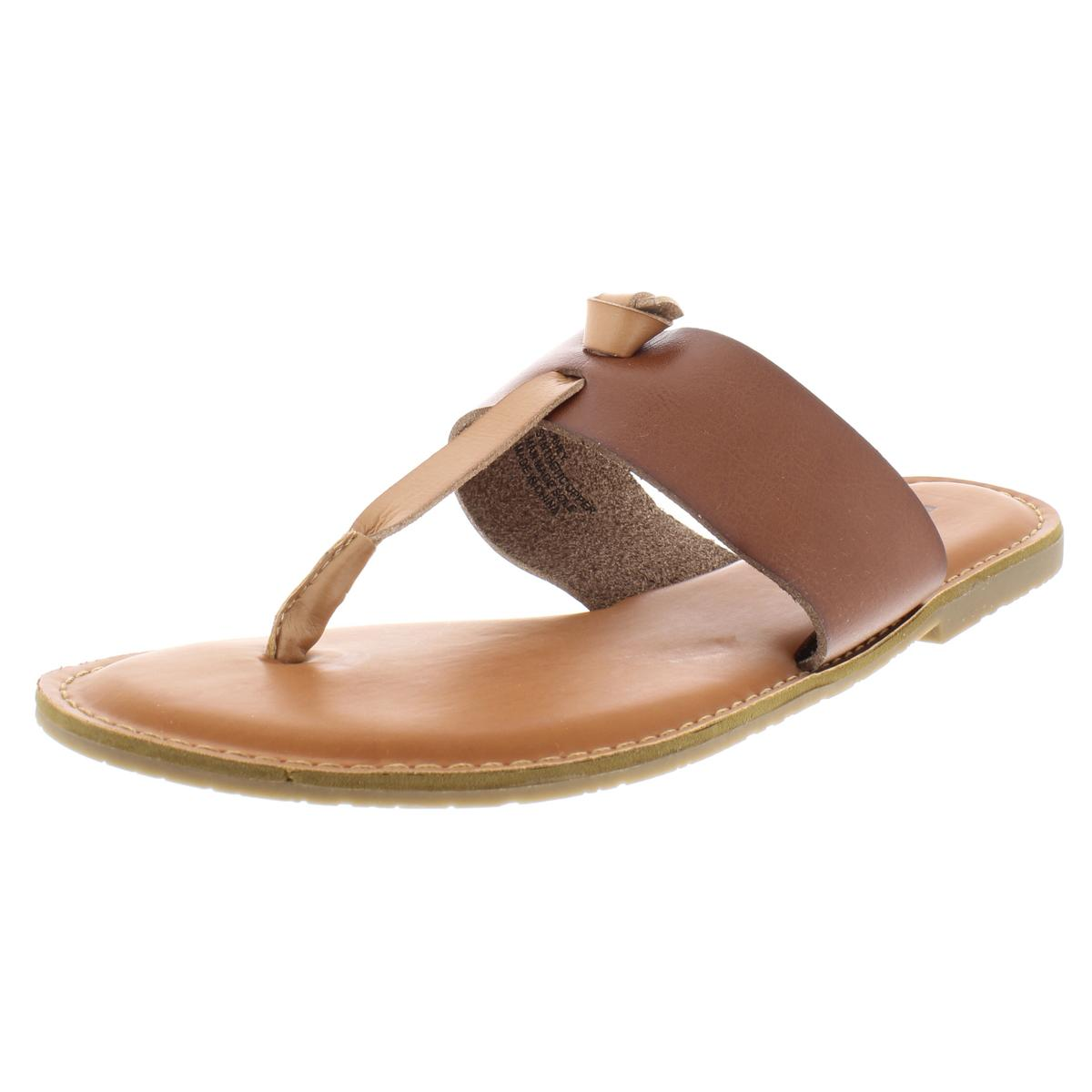 4cd325976cde Details about Rock and Candy by Zigi Womens Blaney Tan Thong Sandals 6  Medium (B