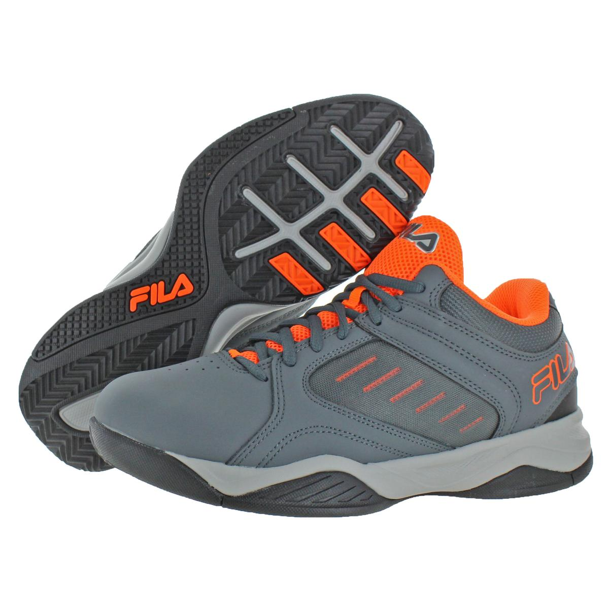 Fila-Men-039-s-Bank-Casual-Lace-Up-Low-Top-Court-Basketball-Athletic-Shoes thumbnail 7