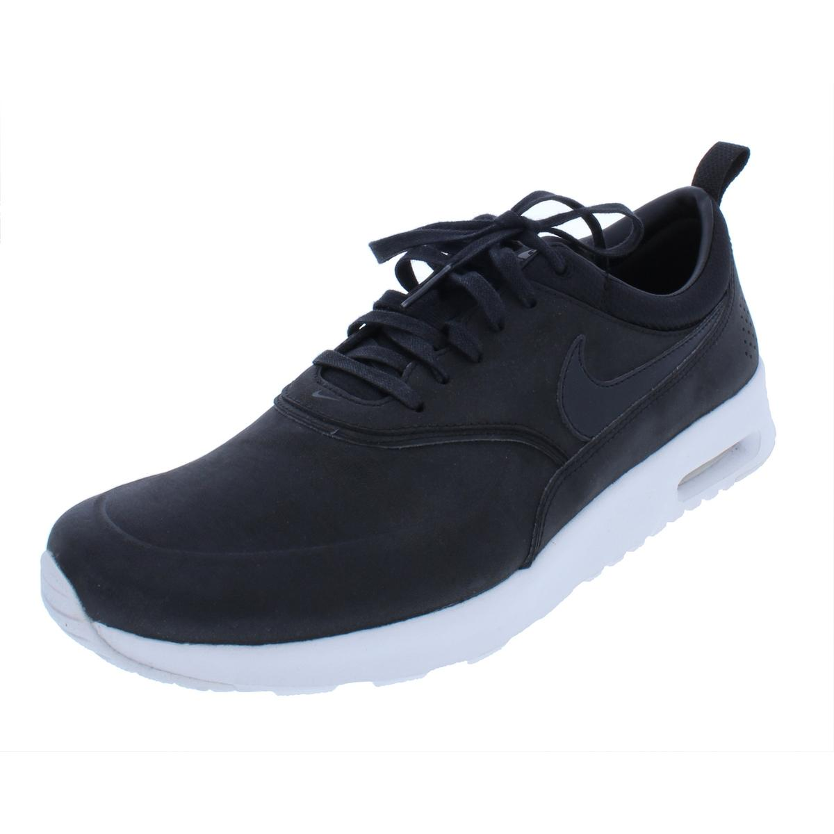 Nike Leder Damenschuhe Air Max Thea Leder Nike Fashion Niedrig-Top Sneakers Schuhes BHFO 9220 c6108a