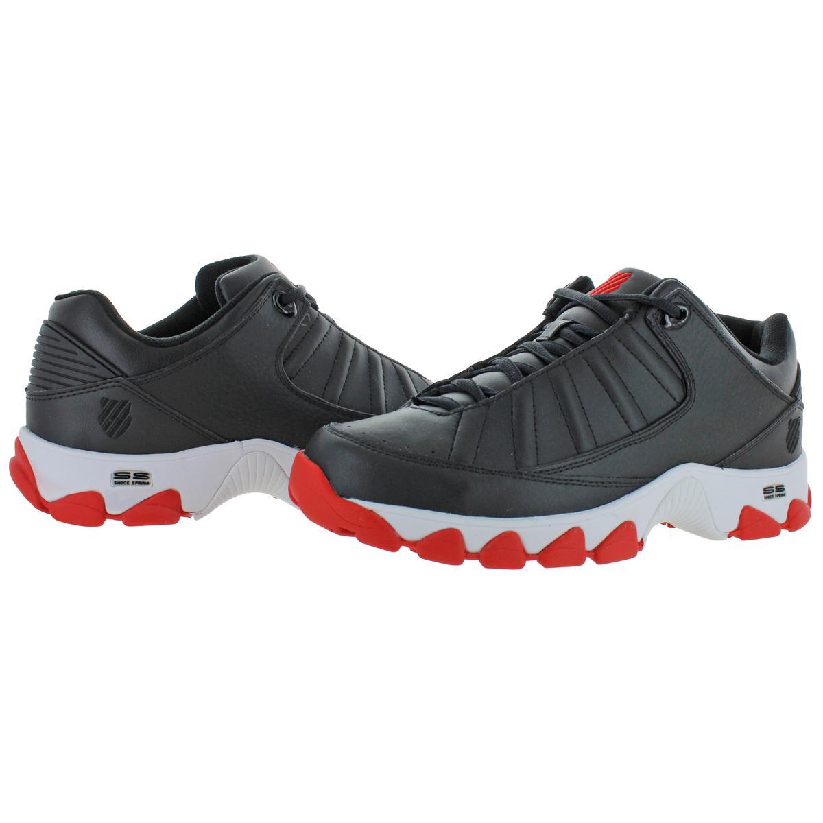K-Swiss-Men-039-s-ST529-Heritage-Leather-Fashion-Sneakers-Shoes miniatuur 3