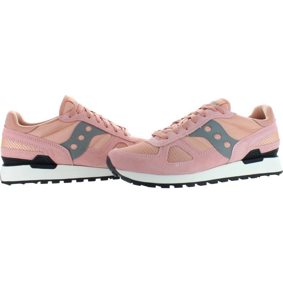 Saucony-Mens-Shadow-Original-Trainers-Suede-Comfort-Sneakers-Shoes-BHFO-0431 miniatuur 30