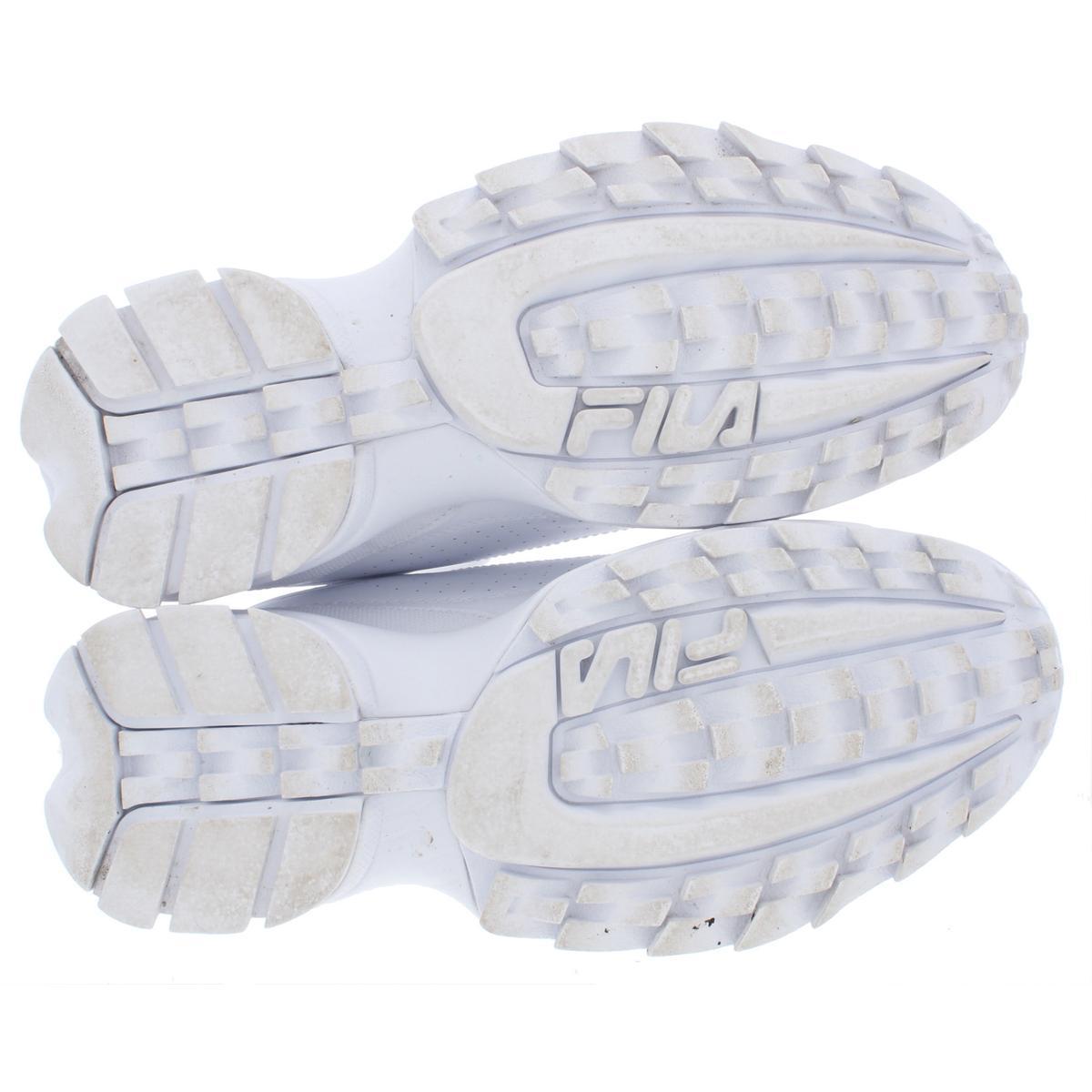 thumbnail 10 - Fila Men's Disruptor II Premium Leather EVA Retro Chunky Athletic Sneakers