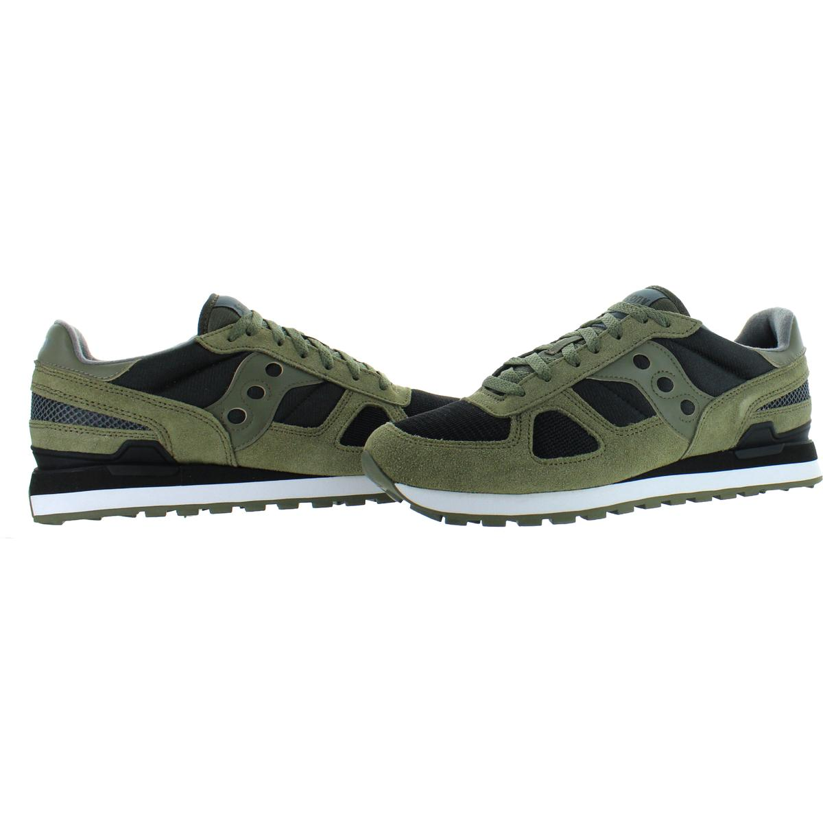 Saucony-Mens-Shadow-Original-Trainers-Suede-Comfort-Sneakers-Shoes-BHFO-0431 miniatuur 27