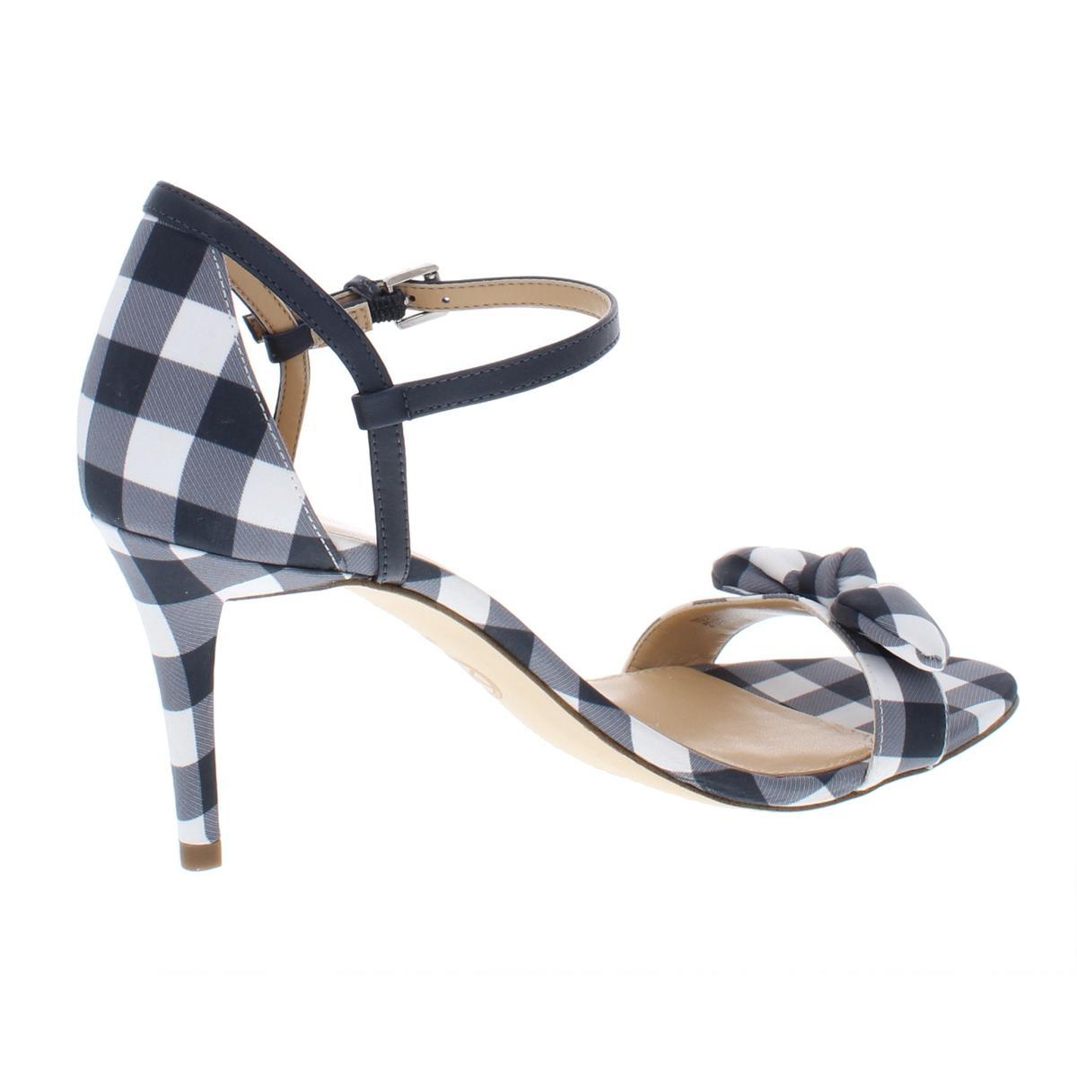 MICHAEL-Michael-Kors-Womens-Pippa-Gingham-Pumps-Dress-Sandals-Shoes-BHFO-5799 thumbnail 4