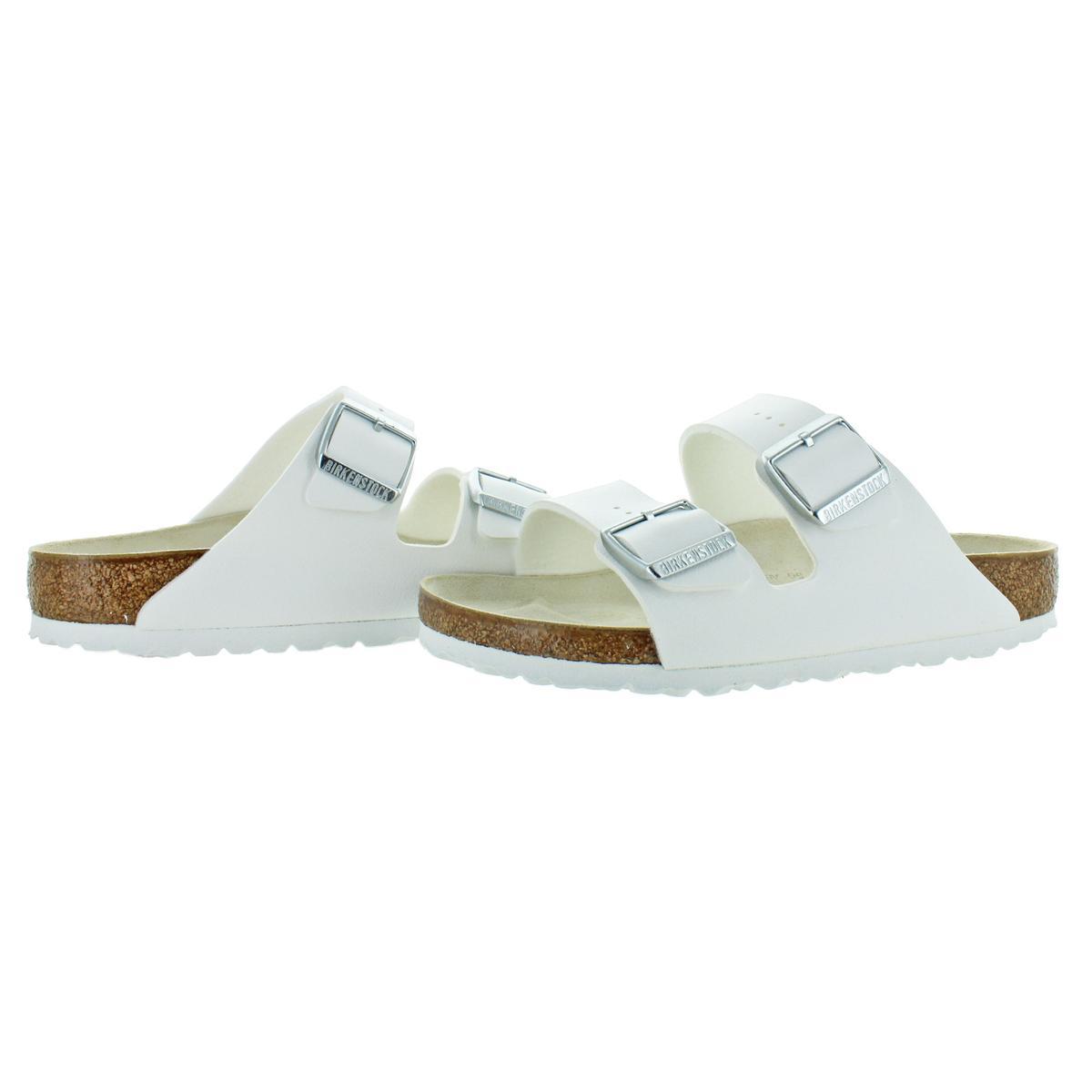 Birkenstock-Women-039-s-Arizona-Double-Buckle-Cork-Sandals thumbnail 7