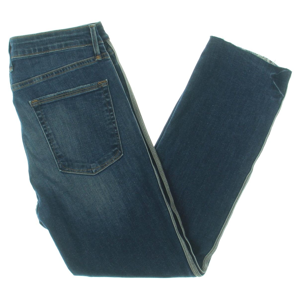 Charter Club Womens Denim Tummy Slimming Straight Leg Jeans Plus BHFO 4045