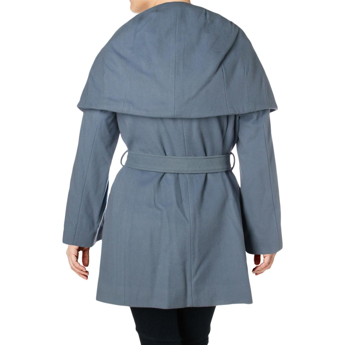 Tahari-Marla-Women-s-Plus-Size-Oversized-Collar-Warm-Wool-Blend-Wrap-Coat thumbnail 6