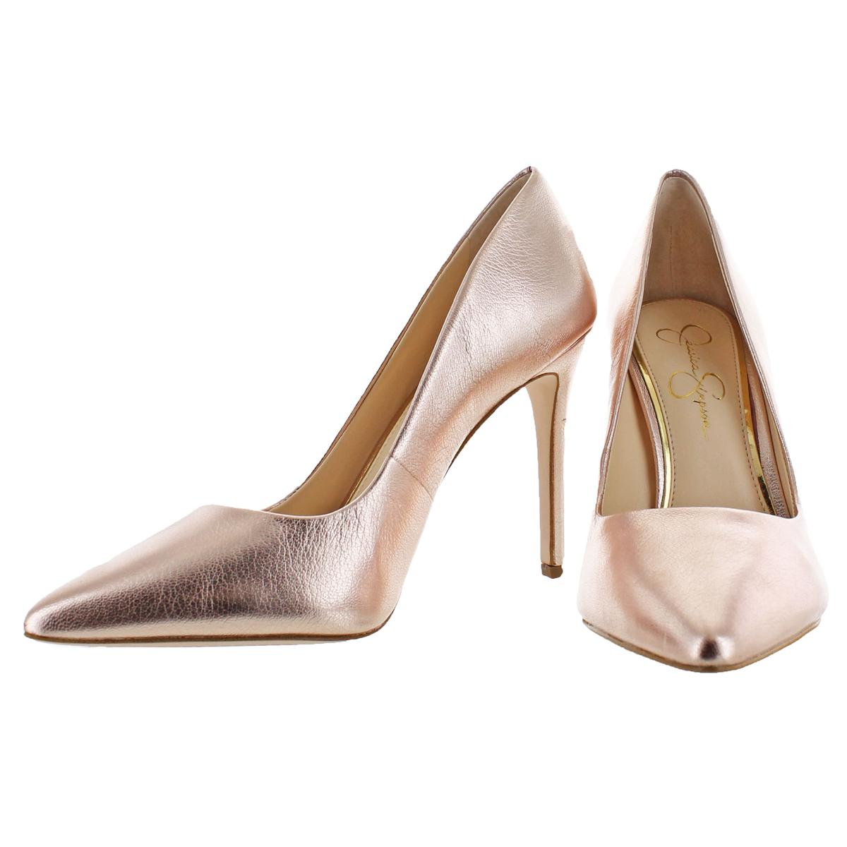 Jessica-Simpson-Praylee-Women-039-s-Pointed-Toe-Pumps-Shoes thumbnail 4