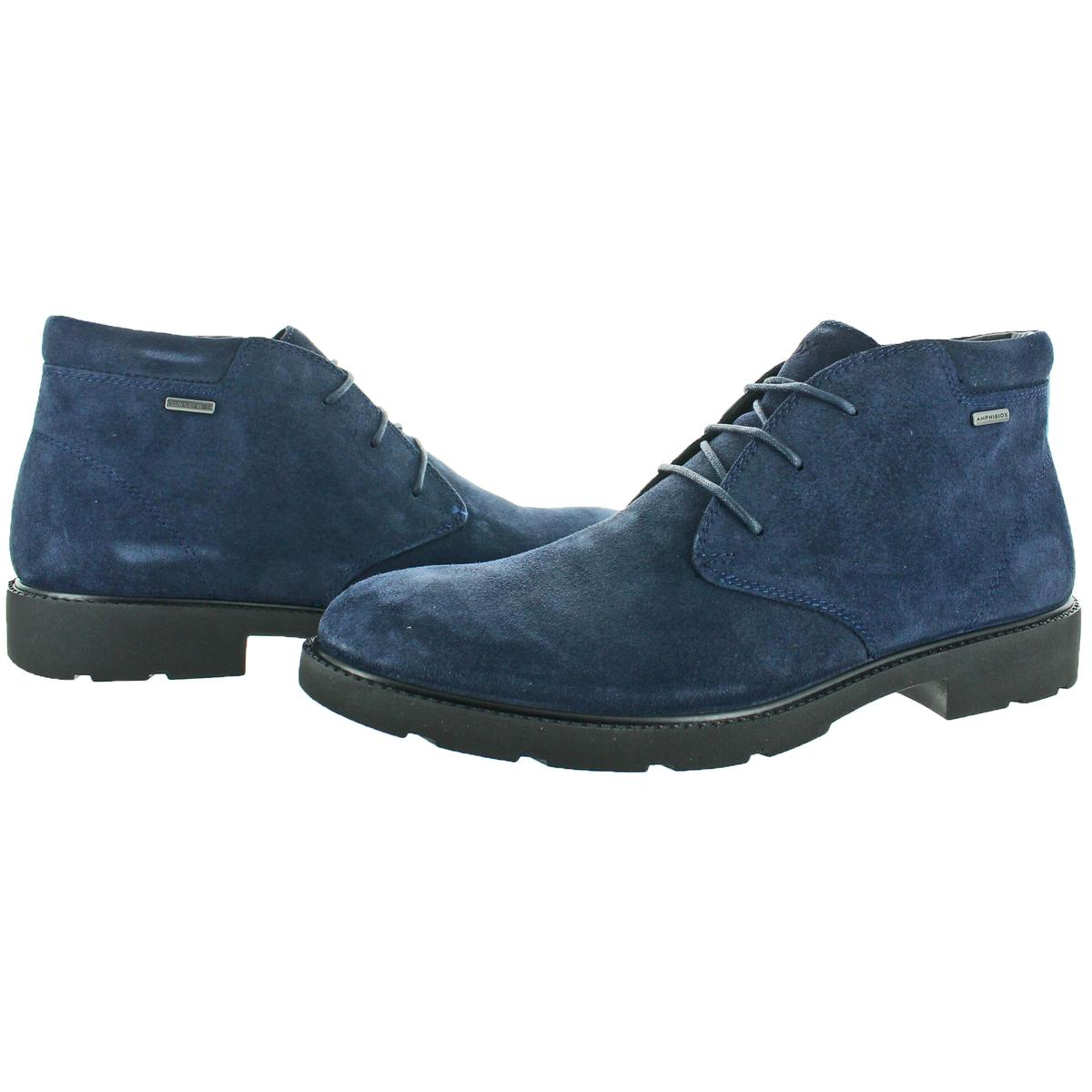 Geox-Rubbiano-ABX-Men-039-s-Waterproof-Suede-Ankle-Boots thumbnail 9