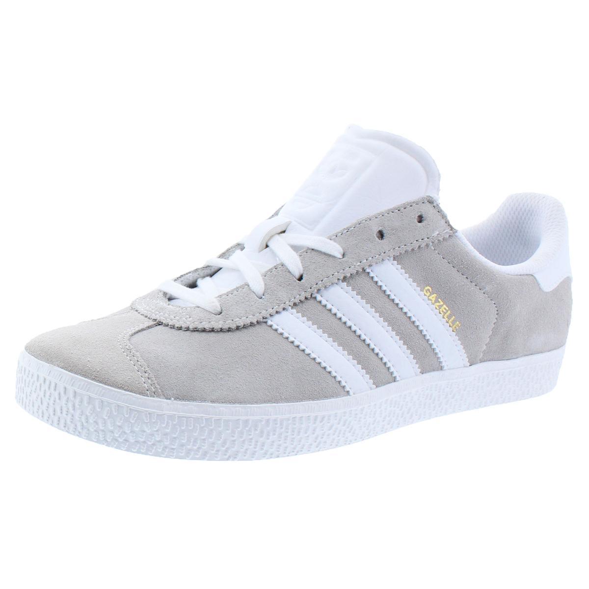 67254962888e9 Details about adidas Originals Boys Gazelle 2 Beige Fashion Sneakers 6  Medium (D) Big Kid 3411