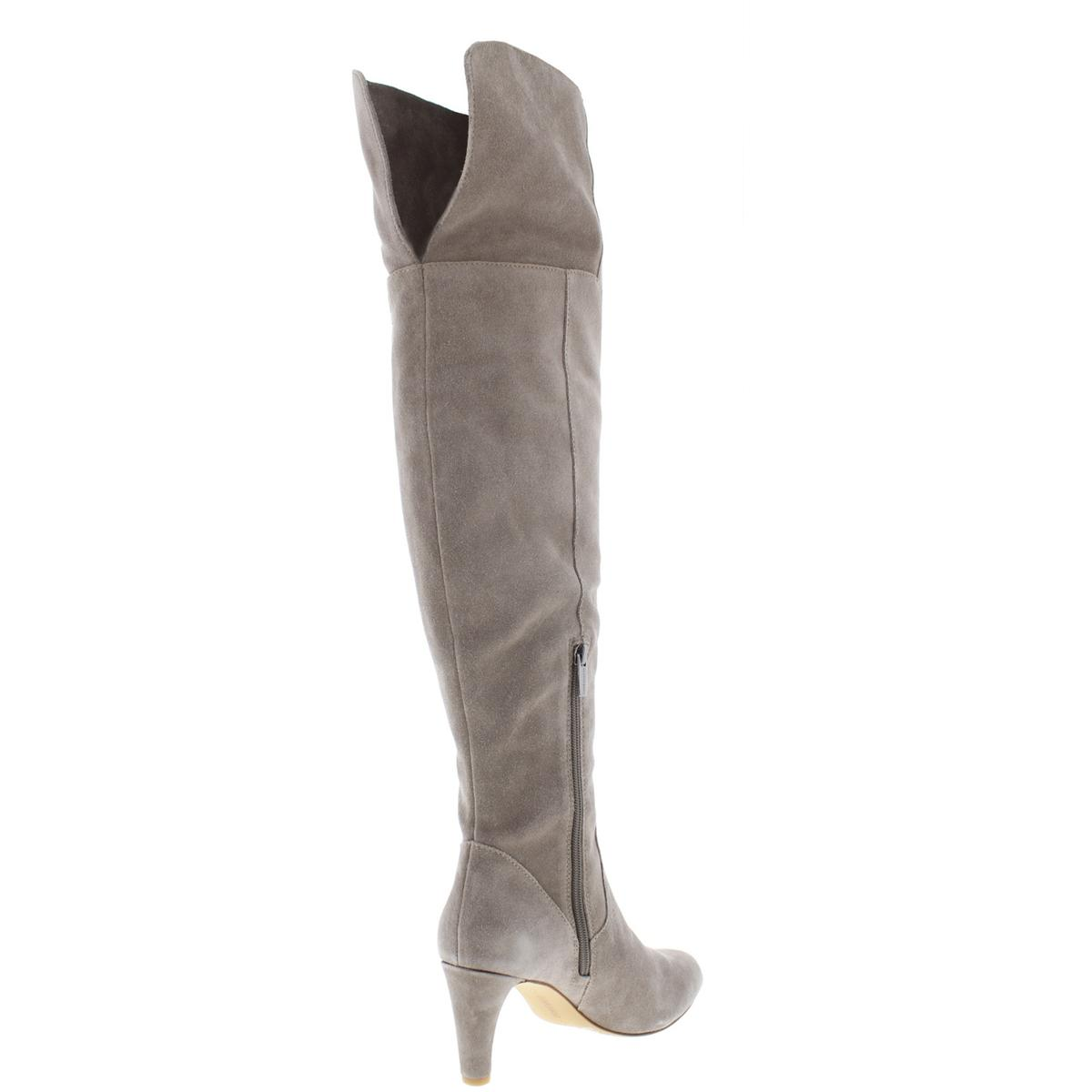 3e240af2d12 Vince Camuto Womens Armaceli Suede Round Toe Over-The-Knee Boots ...