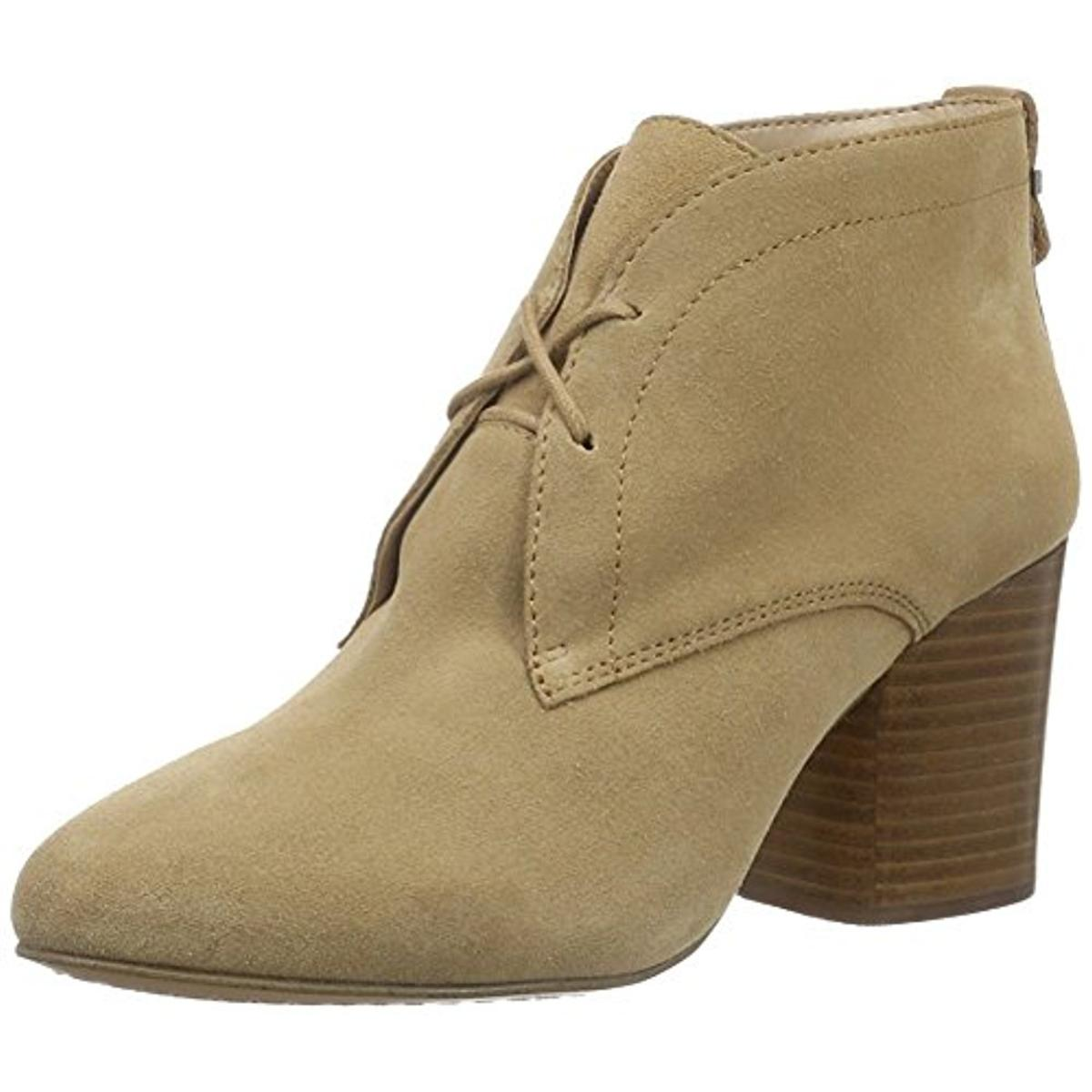 French Connection Damenschuhe Dinah Suede Stacked Heel Ankle Stiefel Schuhes BHFO 1333