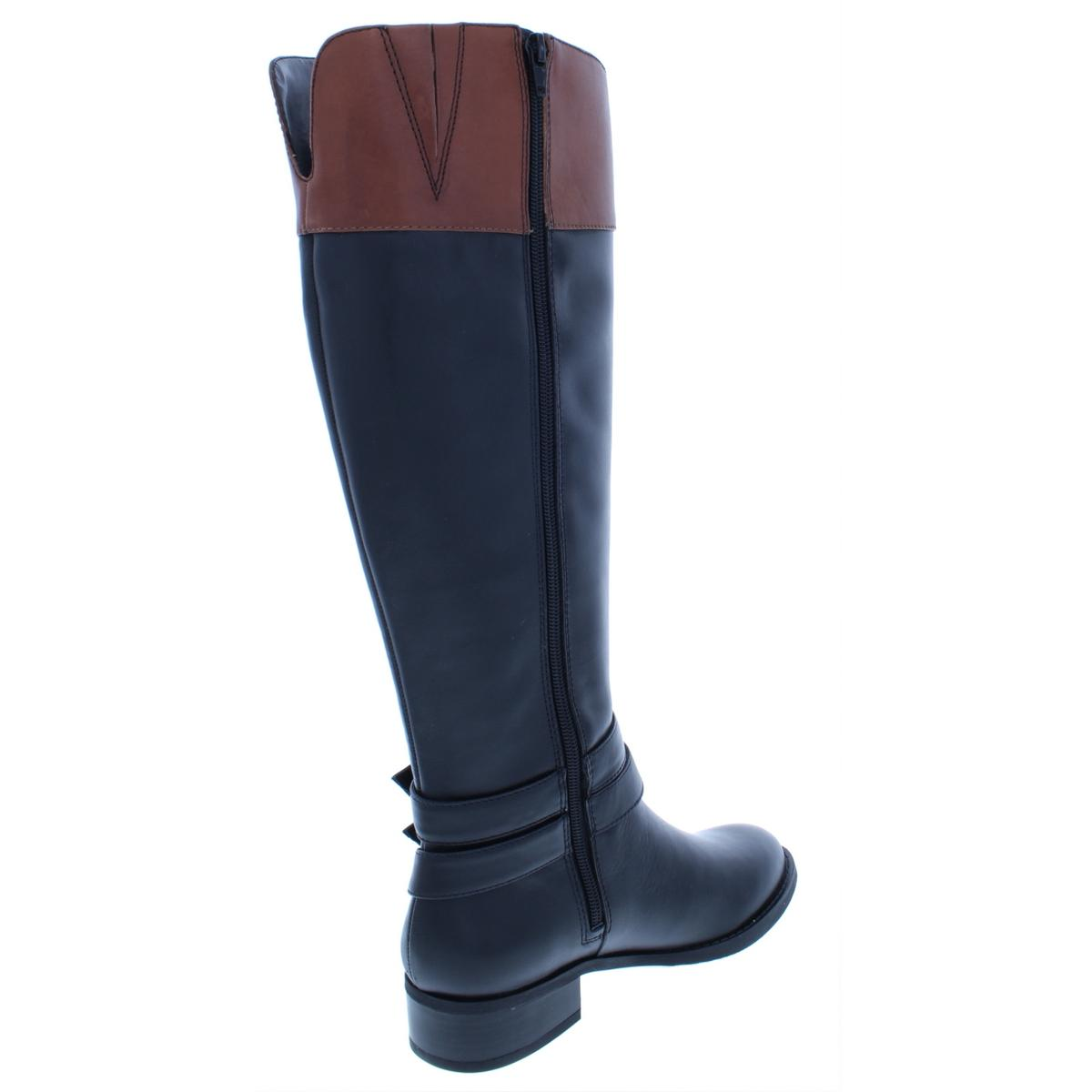 INC-Womens-Frank-II-Leather-Wide-Calf-Knee-High-Riding-Boots-Shoes-BHFO-5125 thumbnail 6