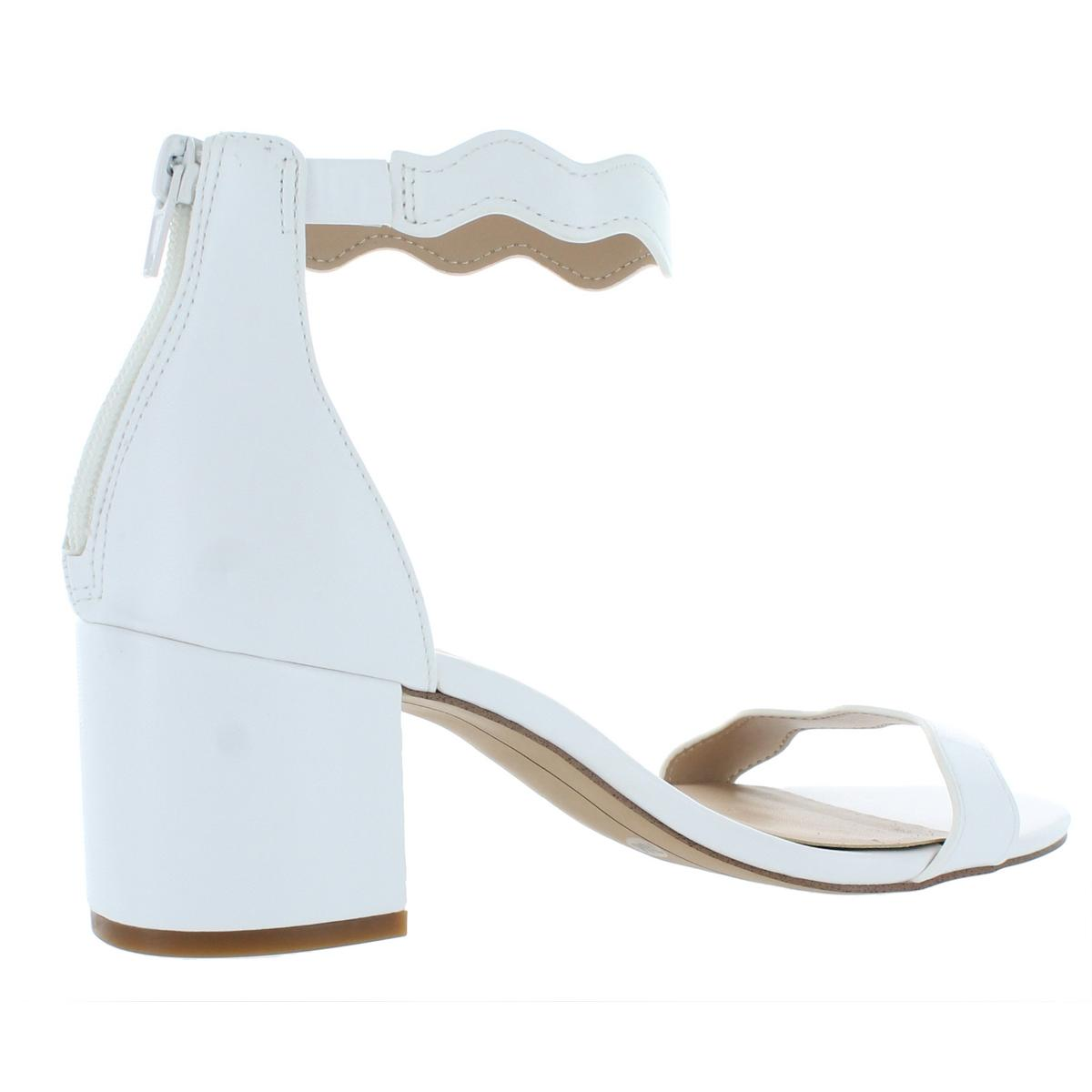 INC-Womens-Hadwin-Faux-Leather-Scalloped-Evening-Heels-Shoes-BHFO-7073 thumbnail 4