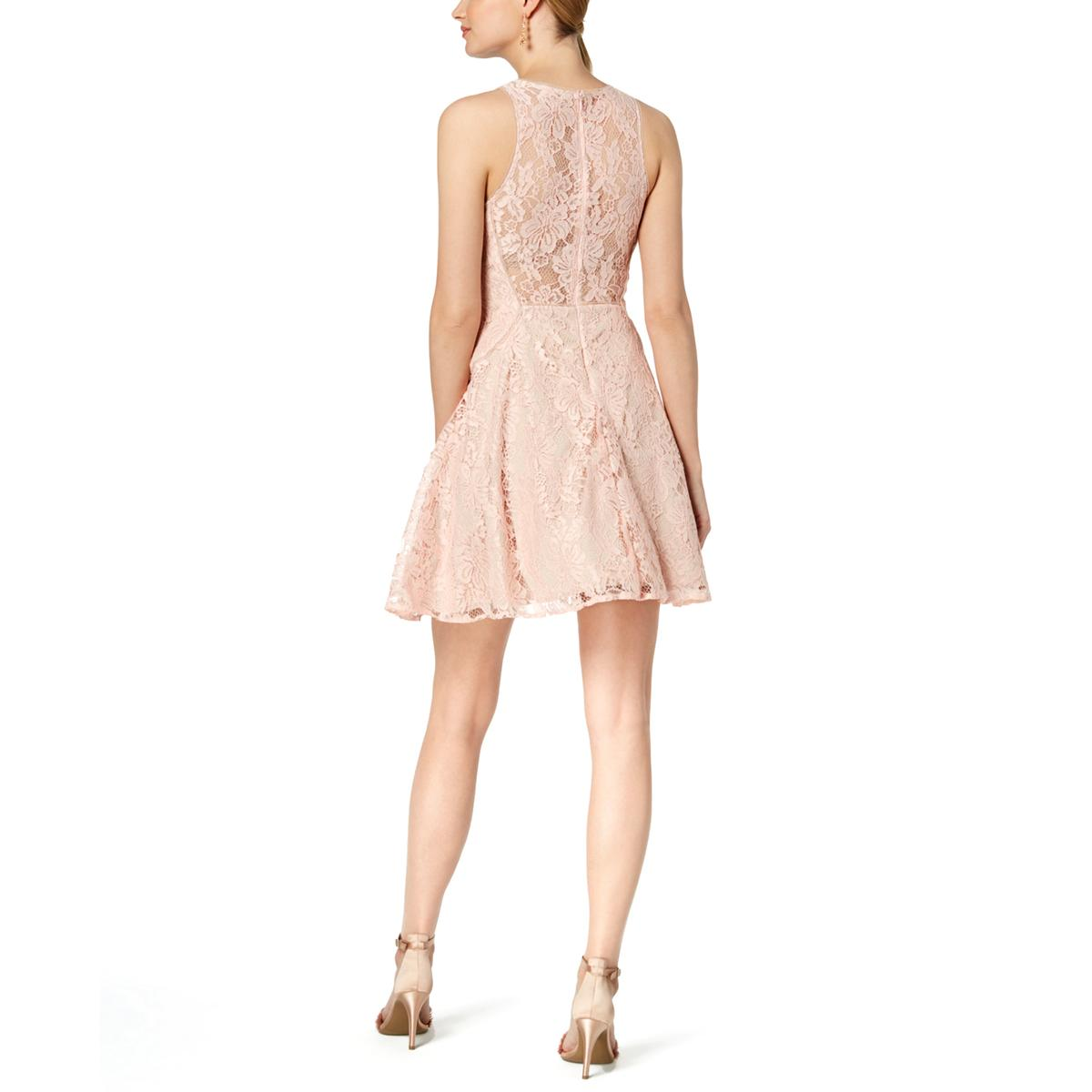 Xscape Womens Mini Formal Fit /& Flare Party Dress BHFO 7992