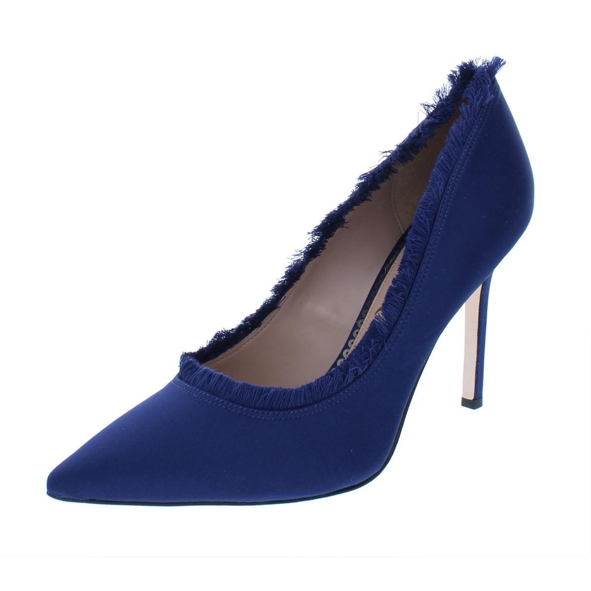 2b17e0b48 Details about Sam Edelman Womens Halan Navy Pointed Toe Heels Shoes 8.5  Medium (B