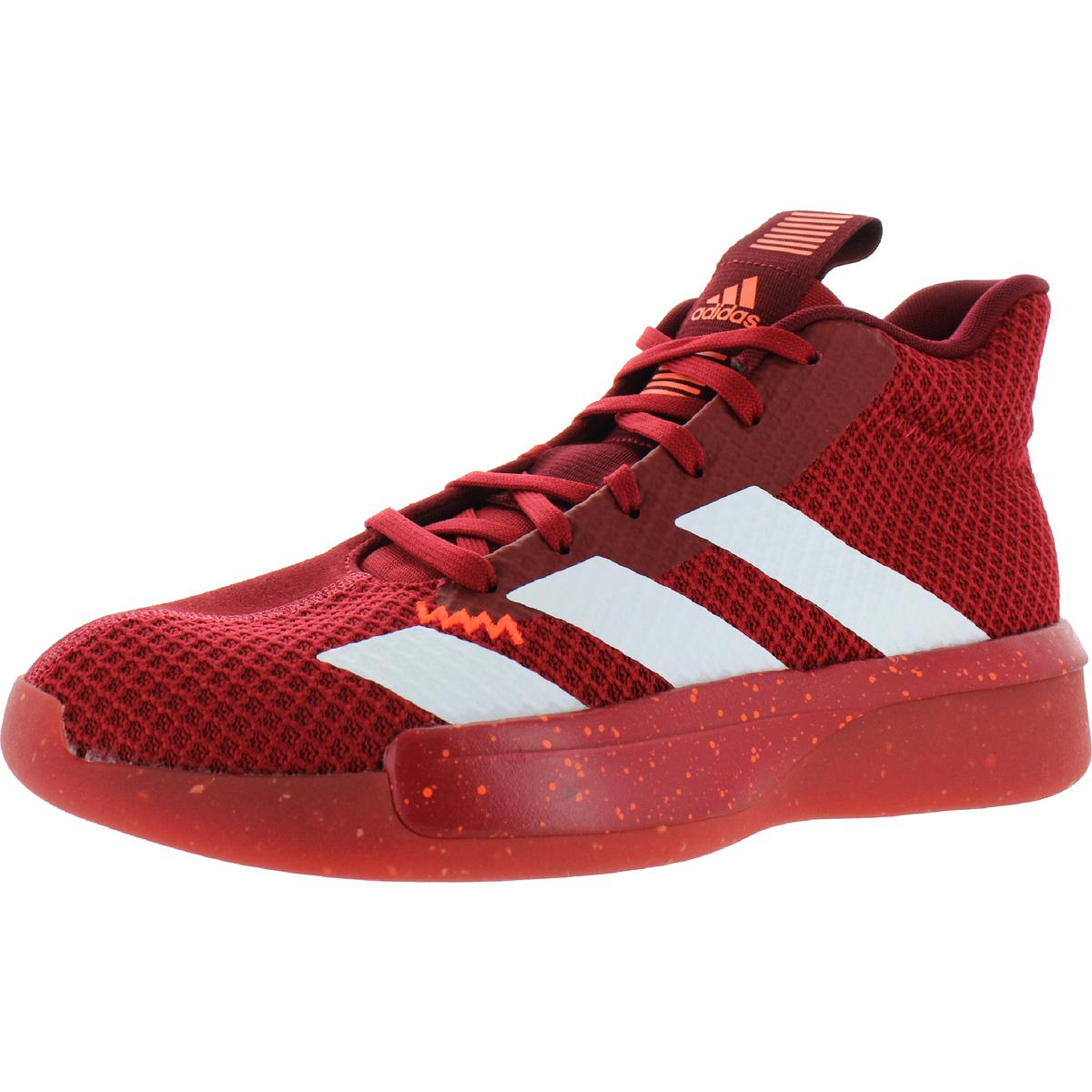 Details about Adidas Mens Pro Next 2019 Suede Knit Basketball Shoes  Sneakers BHFO 6634