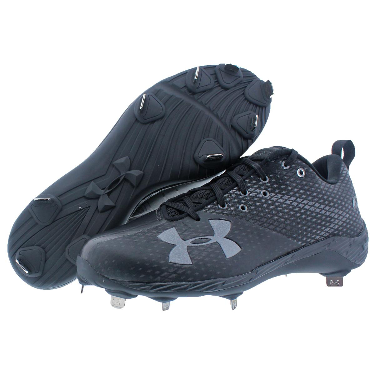 49cd1e1d9603 Under Armour Bryce Harper One Low ST Faux Leather Charged Baseball ...
