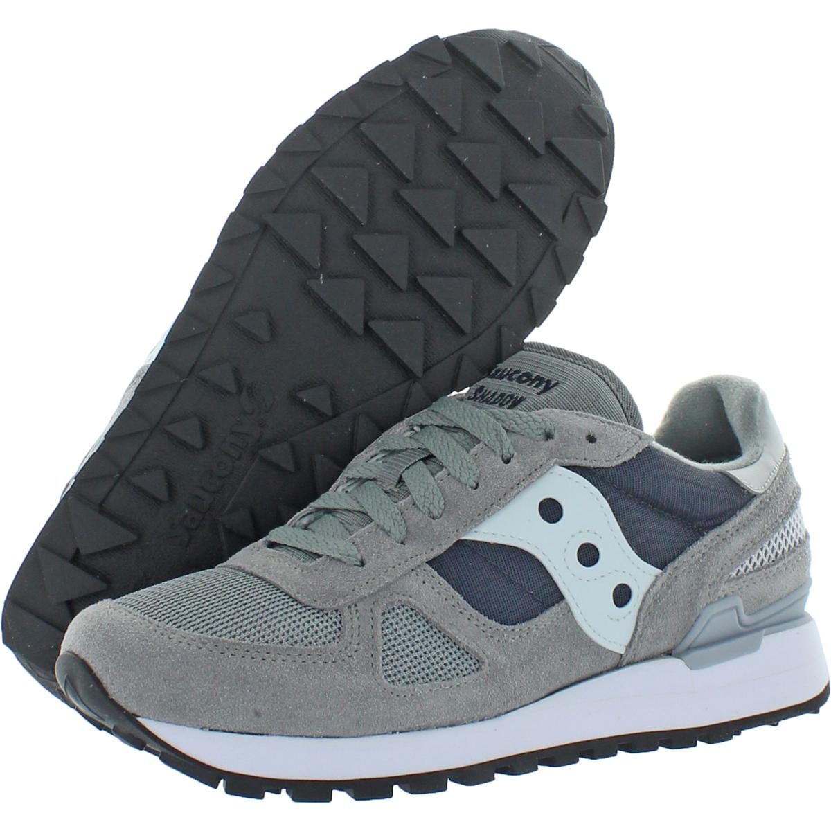 Saucony-Mens-Shadow-Original-Trainers-Suede-Comfort-Sneakers-Shoes-BHFO-0431 miniatuur 18