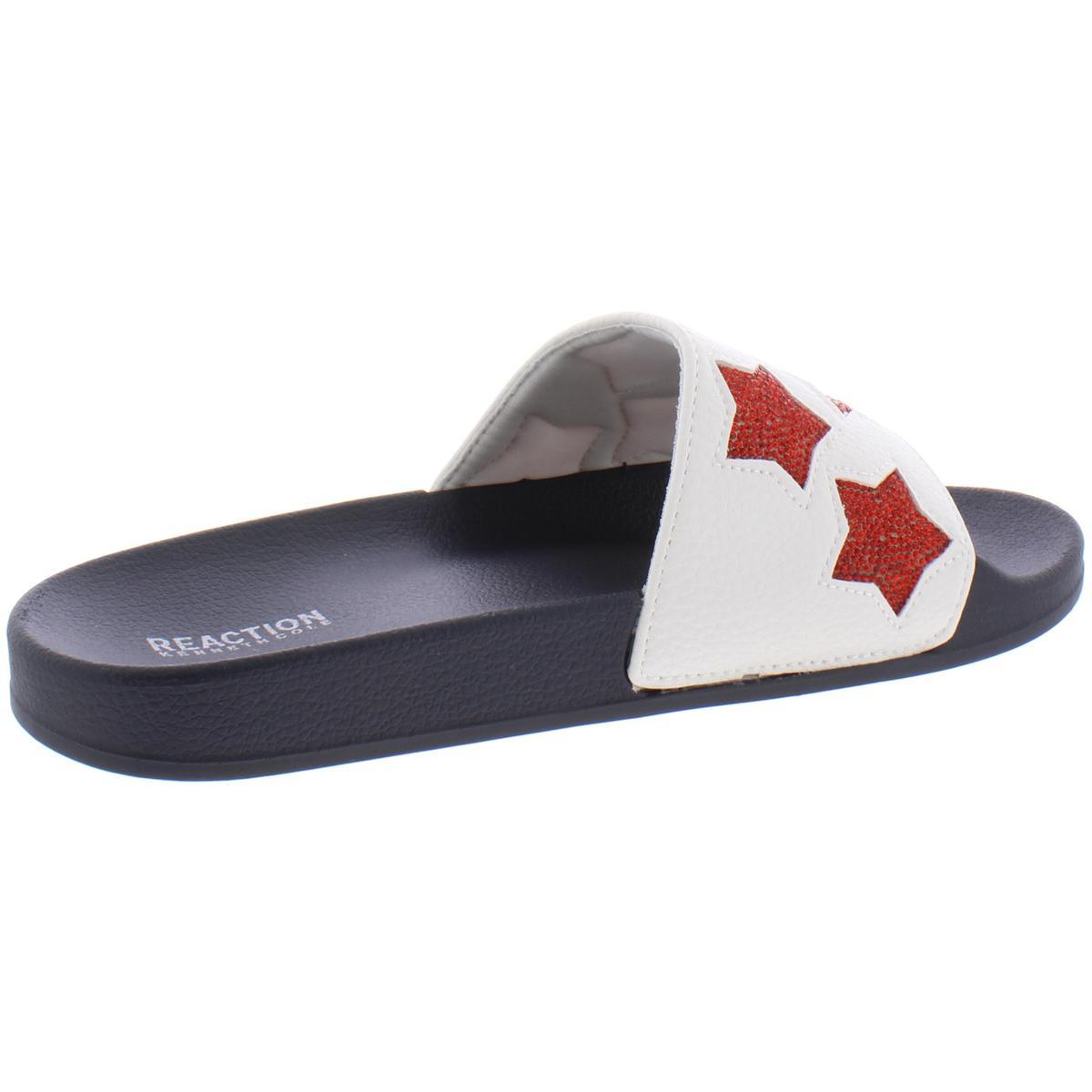 Kenneth-Cole-Reaction-Womens-Pool-Splash-Casual-Slide-Sandals-Shoes-BHFO-9500 thumbnail 4