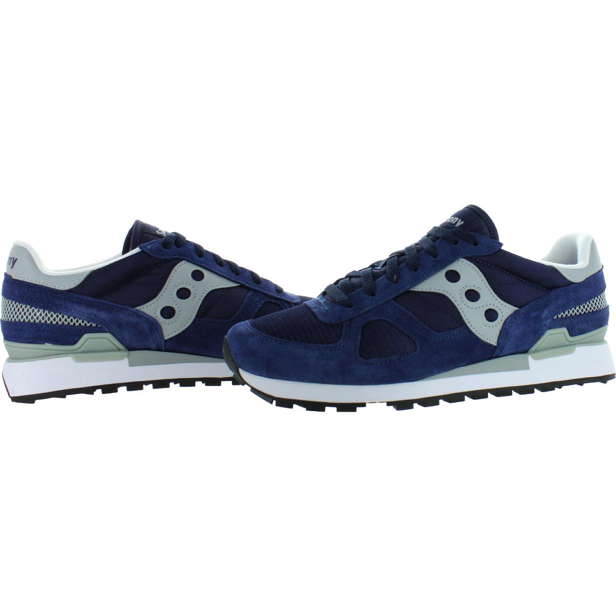 Saucony-Mens-Shadow-Original-Trainers-Suede-Comfort-Sneakers-Shoes-BHFO-0431 miniatuur 25