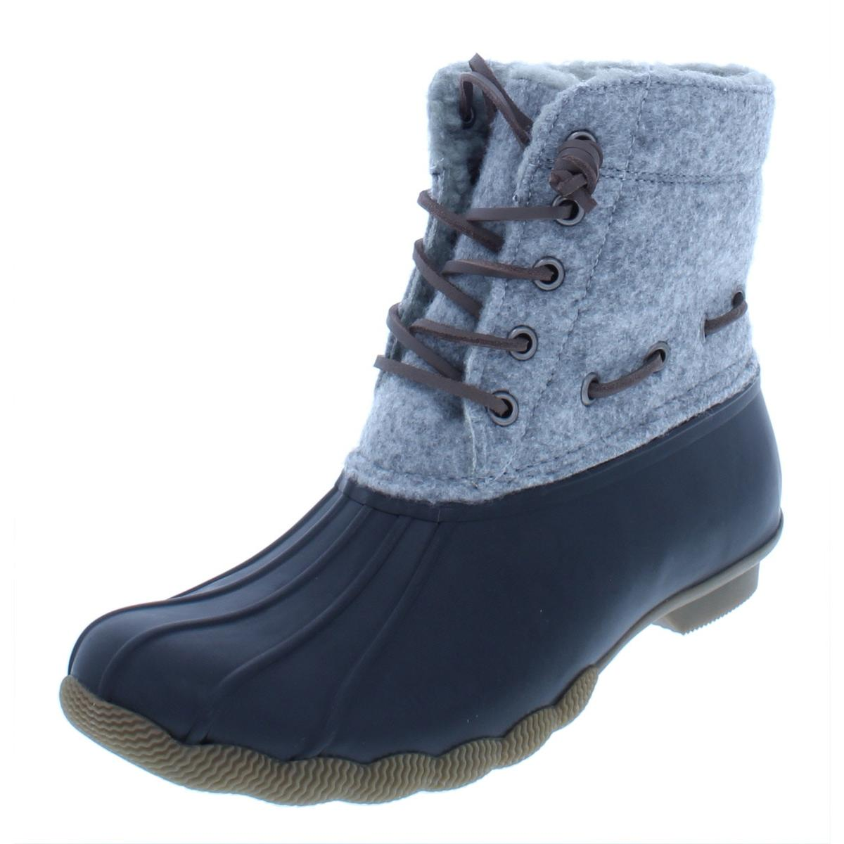 53941044794 Details about Steve Madden Womens Torrent Gray Ankle Rain Boots Shoes 6  Medium (B