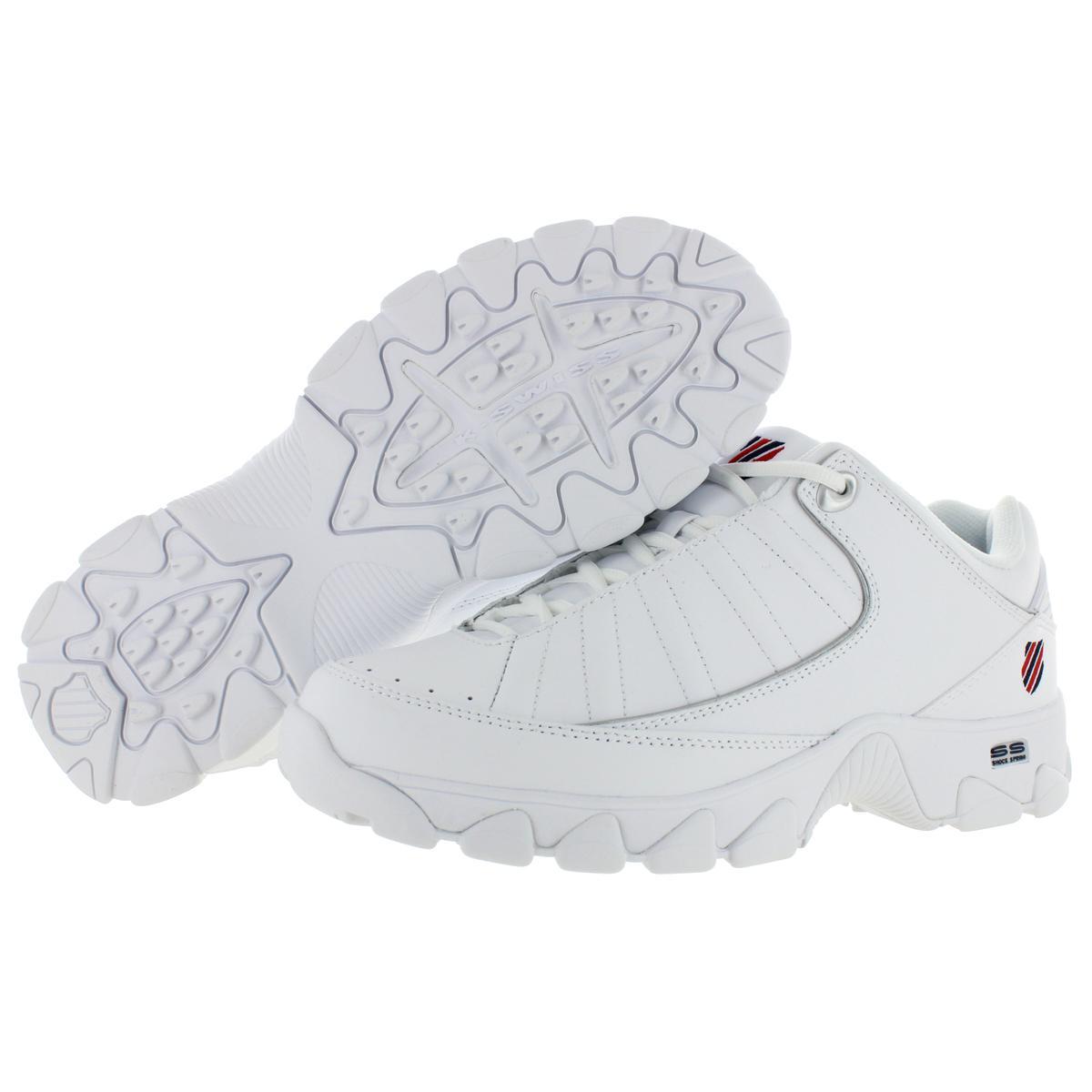 K-Swiss-Men-039-s-ST529-Heritage-Leather-Fashion-Sneakers-Shoes miniatuur 7