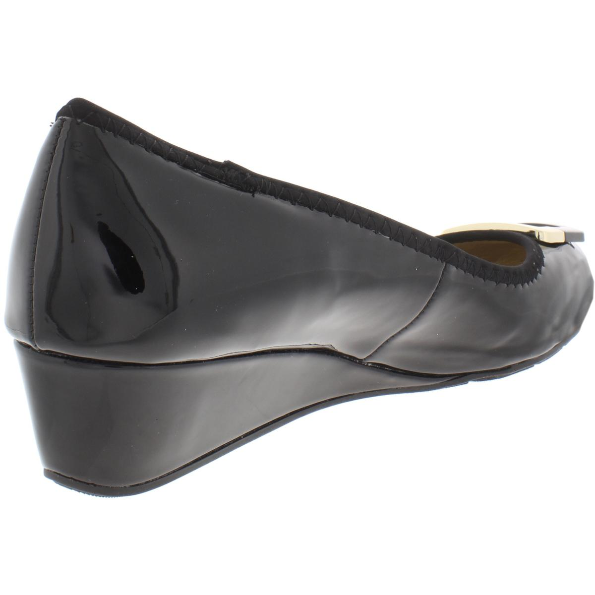 Bandolino-Womens-Tad-Padded-Insole-Round-Toe-Dressy-Wedge-Heels-Shoes-BHFO-3570 thumbnail 4