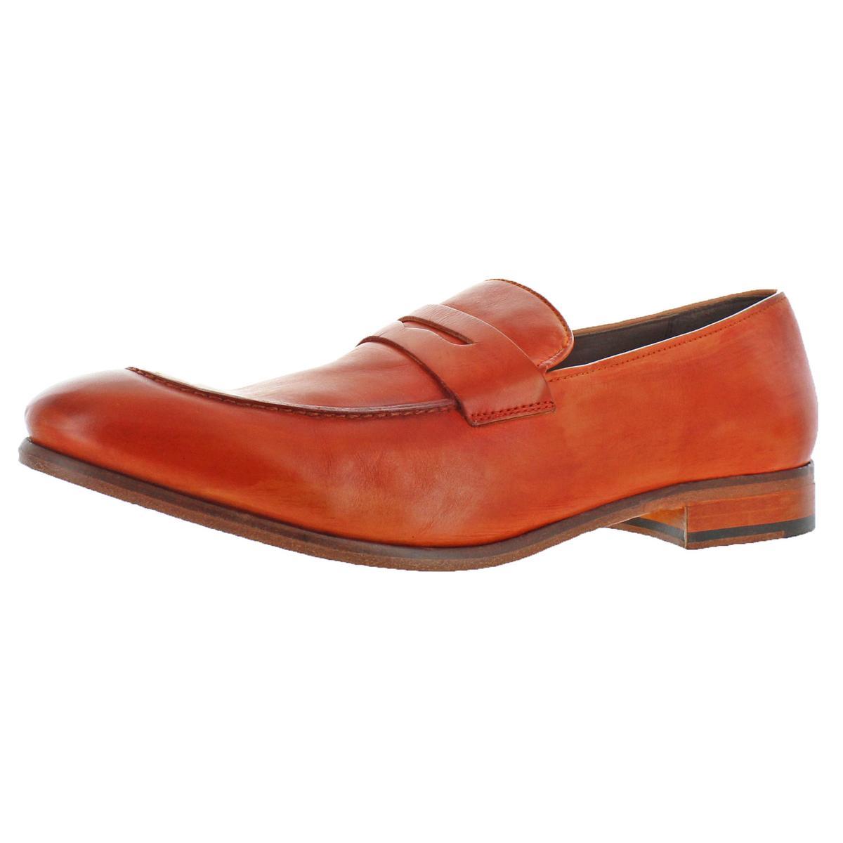 il più economico Donald J. Pliner Uomo Zan Leather Slip Slip Slip On Dress Penny Loafers scarpe BHFO 0741  con il prezzo economico per ottenere la migliore marca