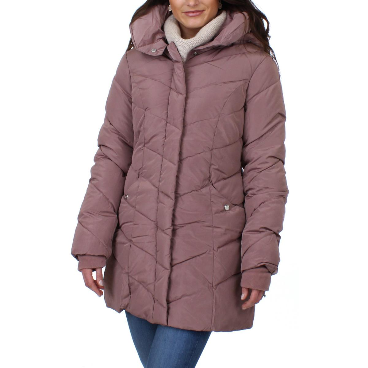 5157870da59 Details about Steve Madden Womens Winter Quilted Cold Weather Puffer Coat  Outerwear BHFO 2513