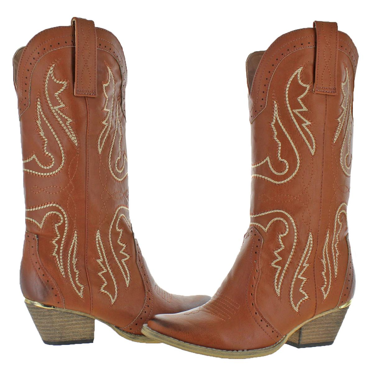 b9d6c942575 Details about Very Volatile Womens Raspy Tan Cowboy