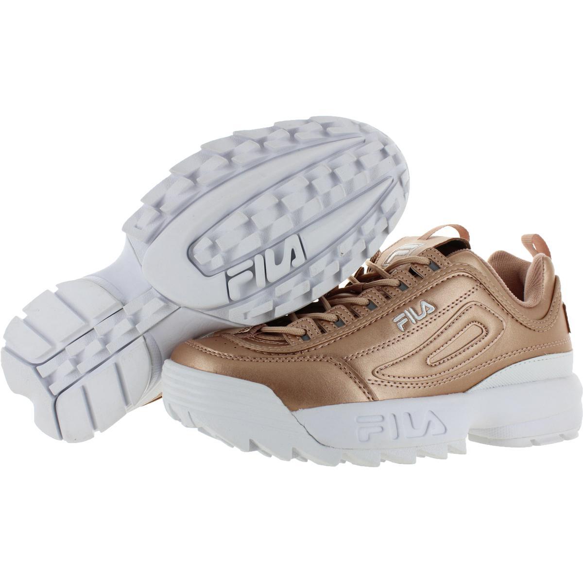 Fila-Womens-Disruptor-II-Premium-Metallic-Trainers-Sneakers-Shoes-BHFO-5237 thumbnail 13